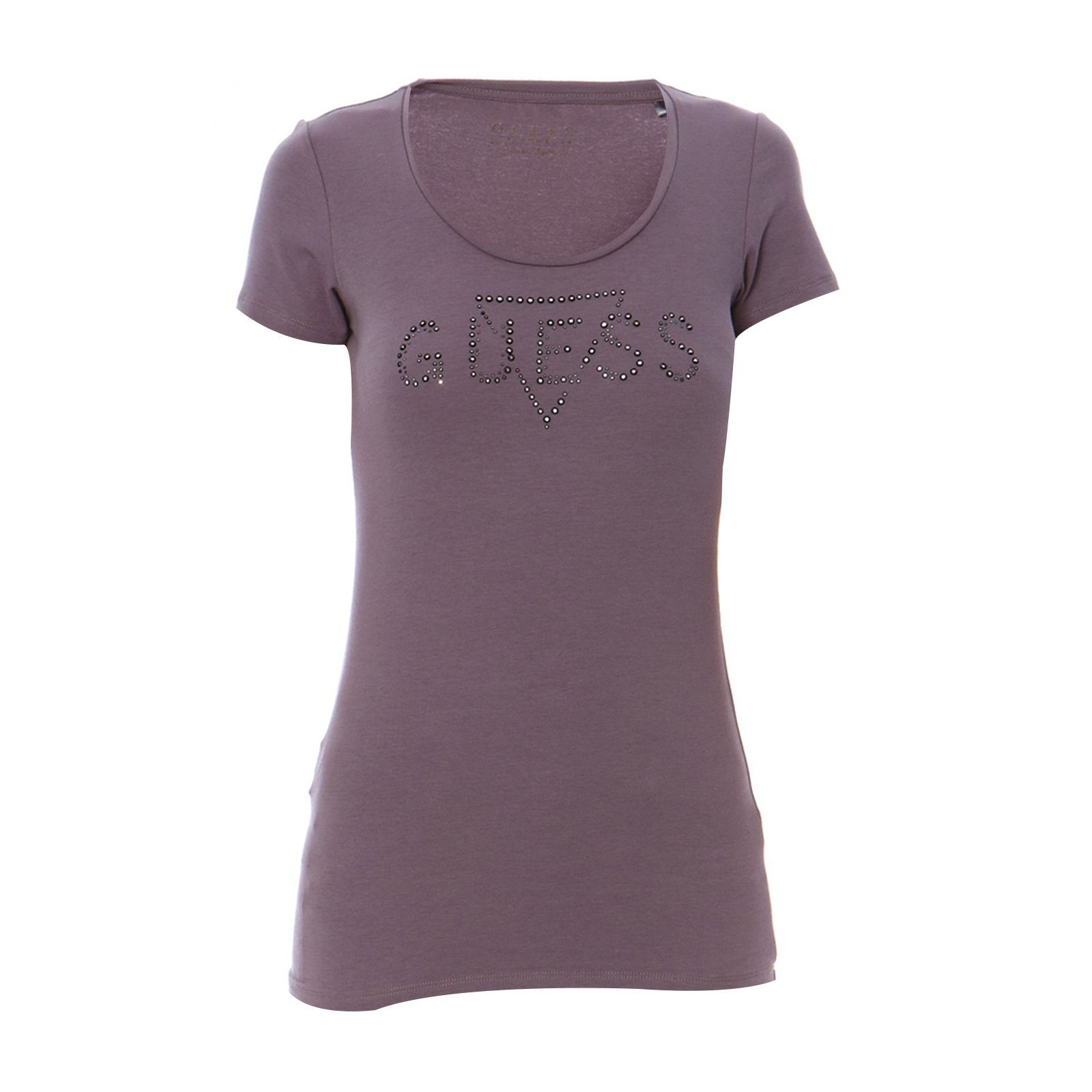 Guess :  T-shirt anthracite