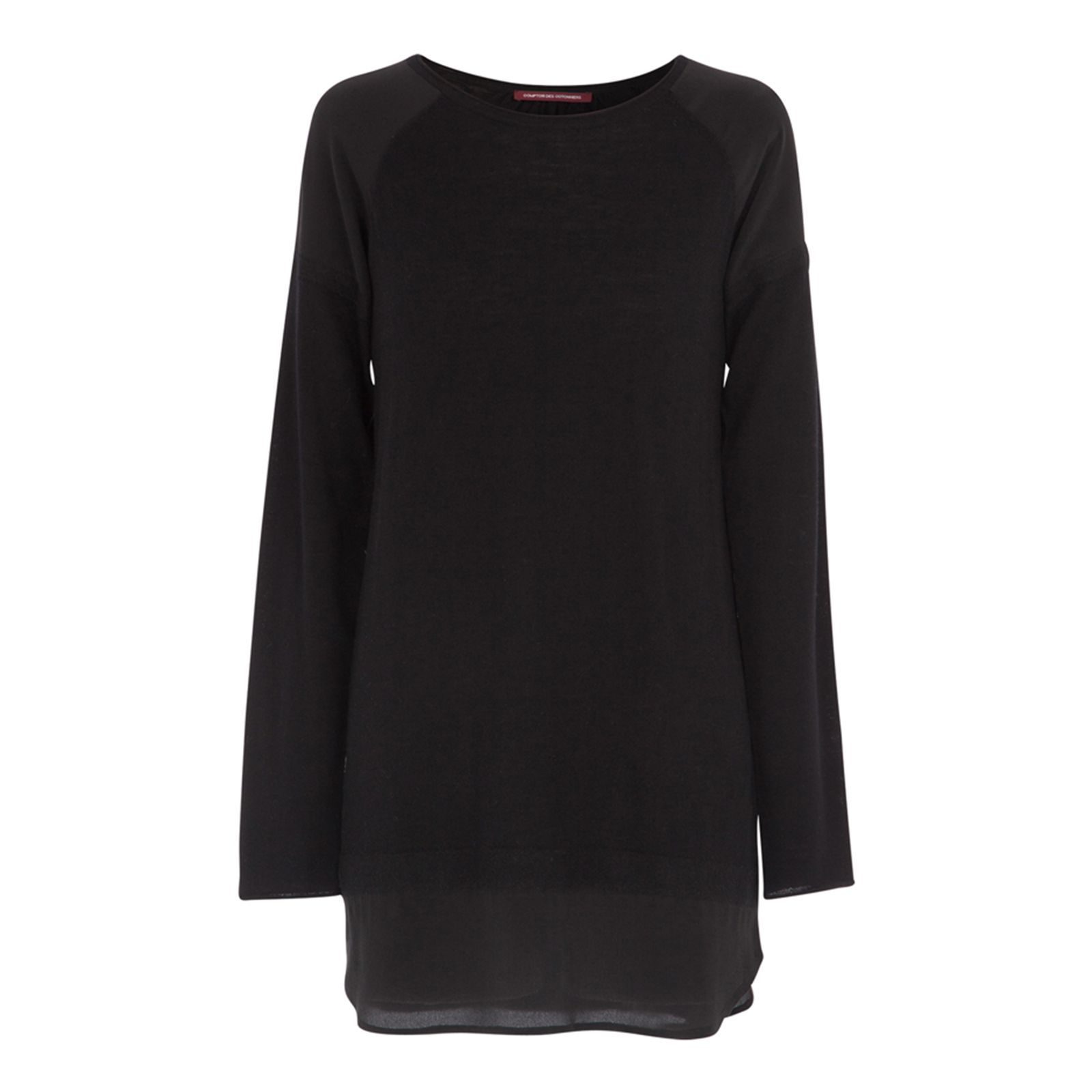 Pull tunique Punch noir