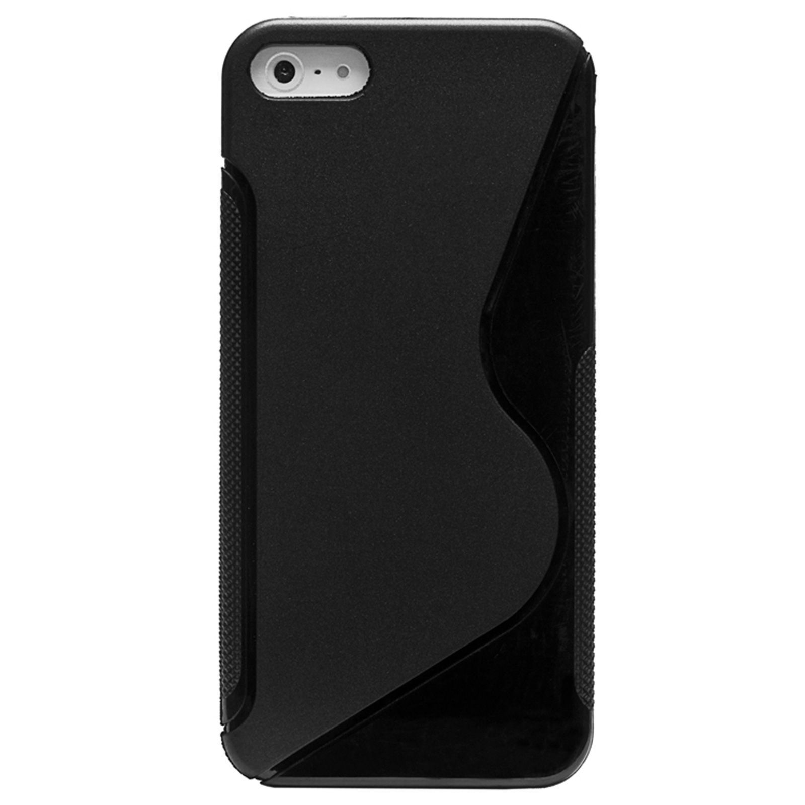 BRANDALLEY - Fashion Elements Coque TPU Style iPhone 5 noire