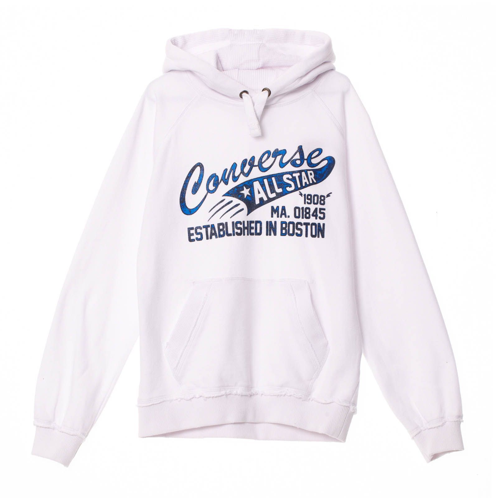 Sweat � capuche Jeff Boy blanc