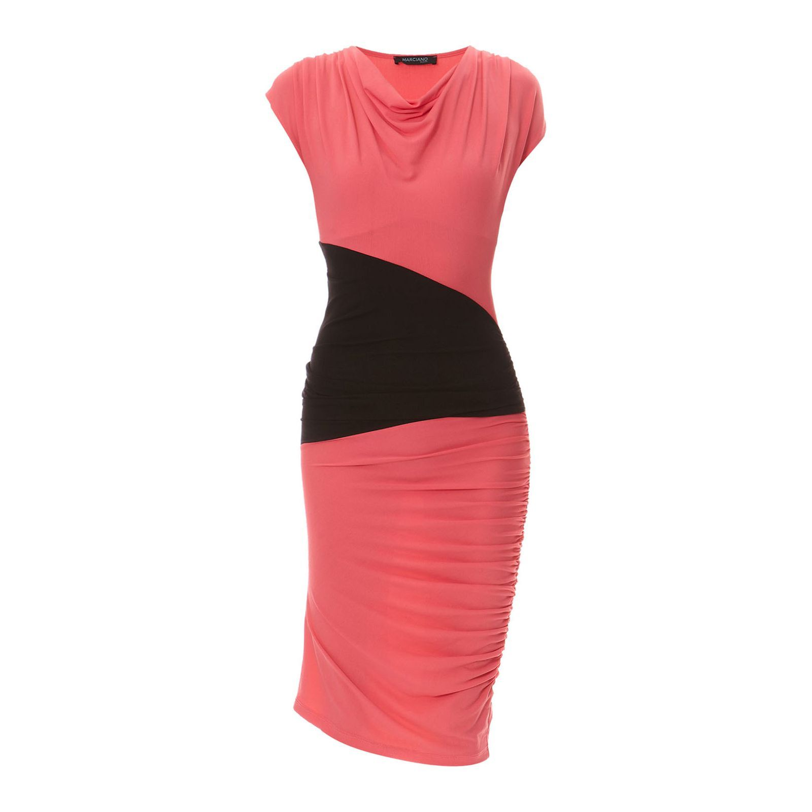 Marciano Guess :  Robe - rose et noir