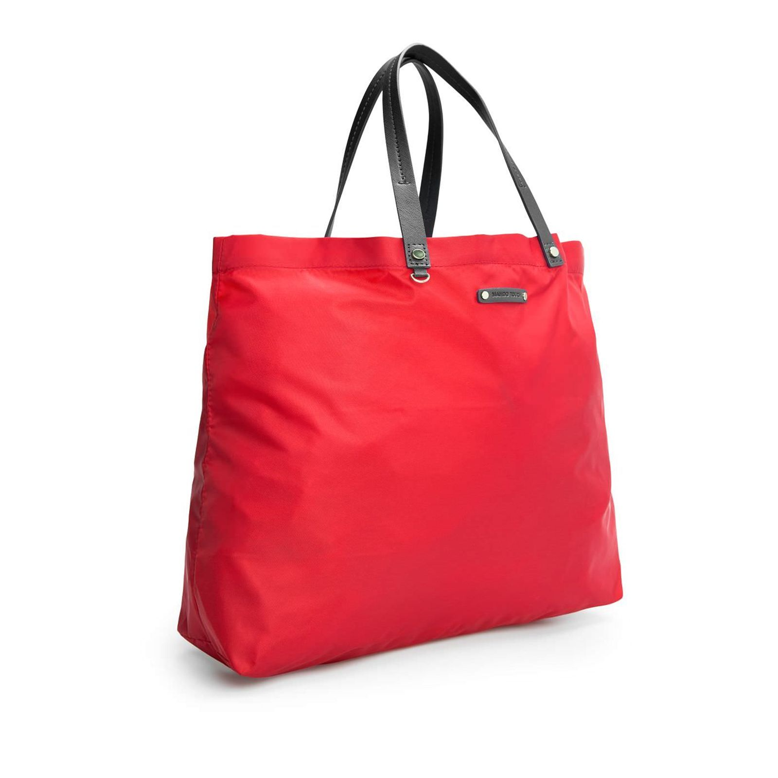 Sac shopping rouge