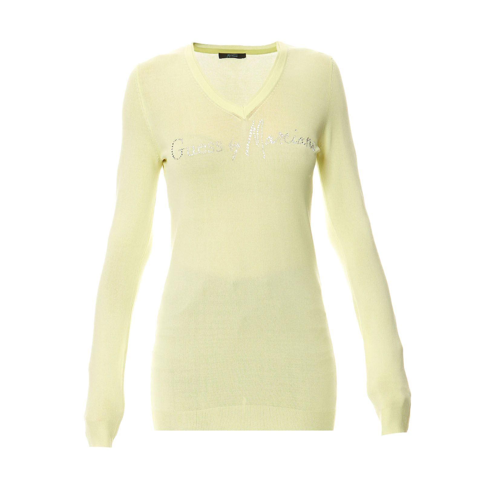 Marciano Guess :  Giallo - Pull - anis