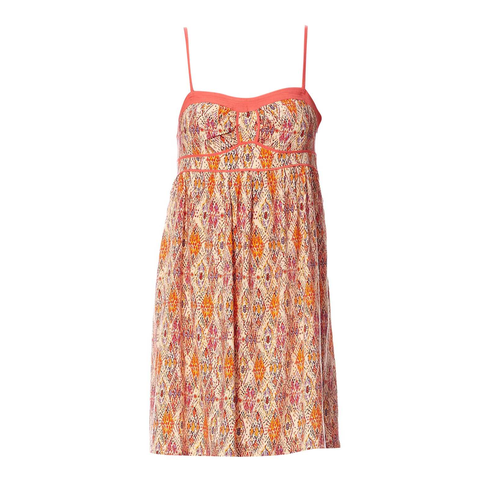 2two Robe bustier - p�che