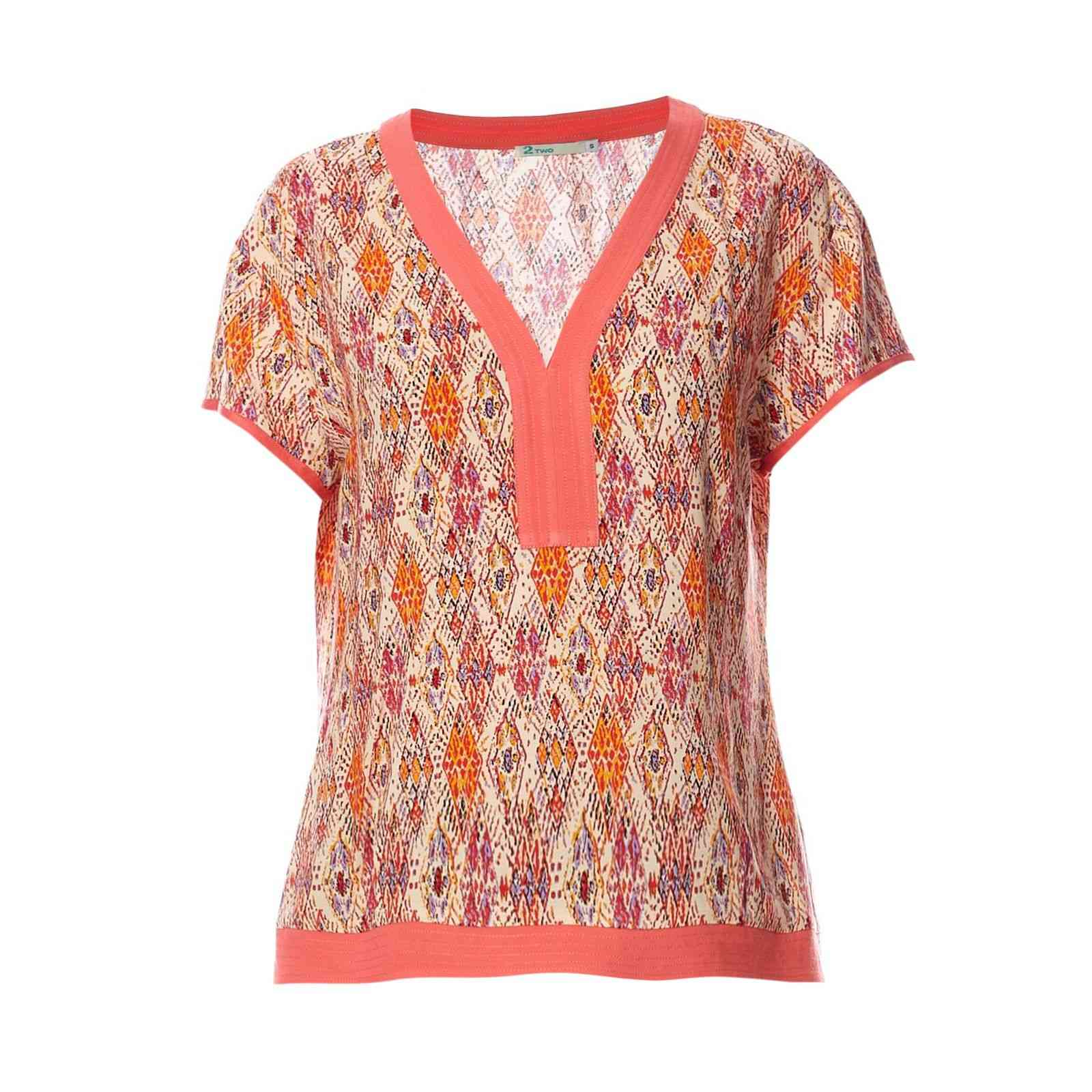 2two Blouse - p�che