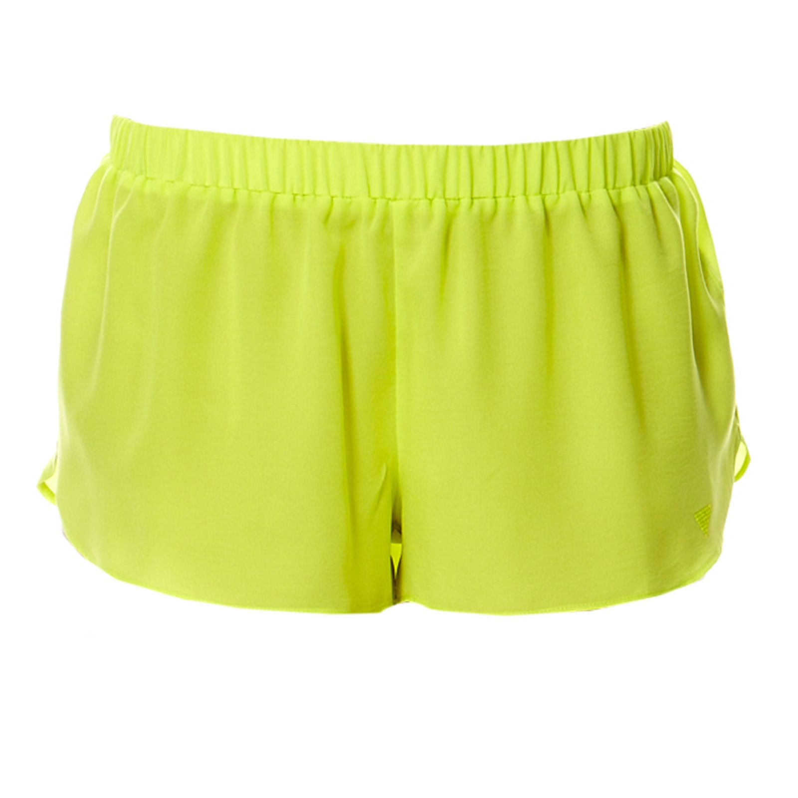 Guess Underwear Women :  Radiance - Short - jaune fluo