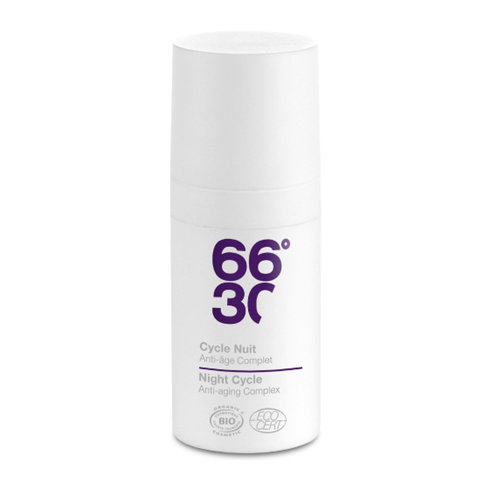 66°30 Cycle Nuit - Anti-âge complet - 15 mL