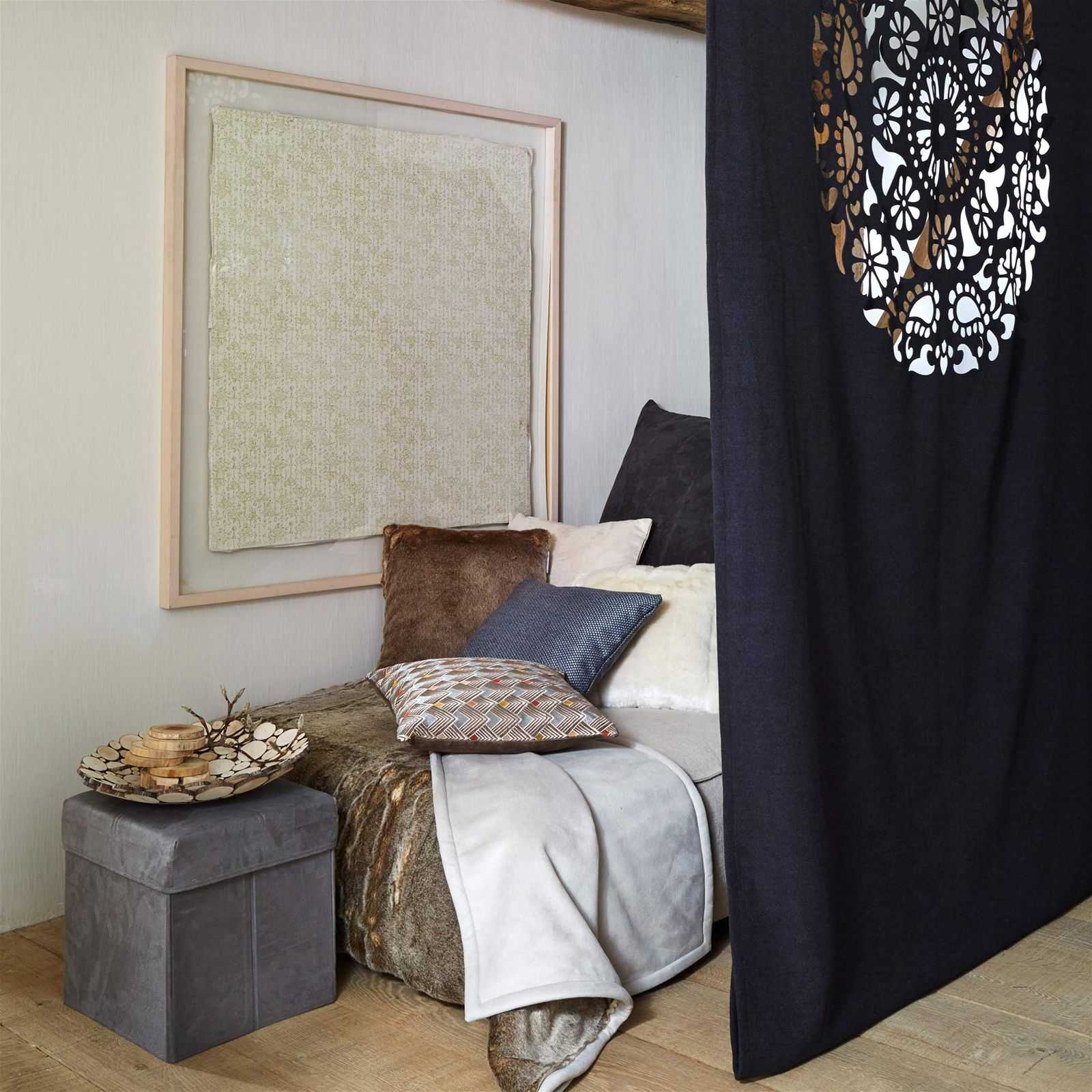 madura verbier rideaux coulisses gris anthracite brandalley. Black Bedroom Furniture Sets. Home Design Ideas