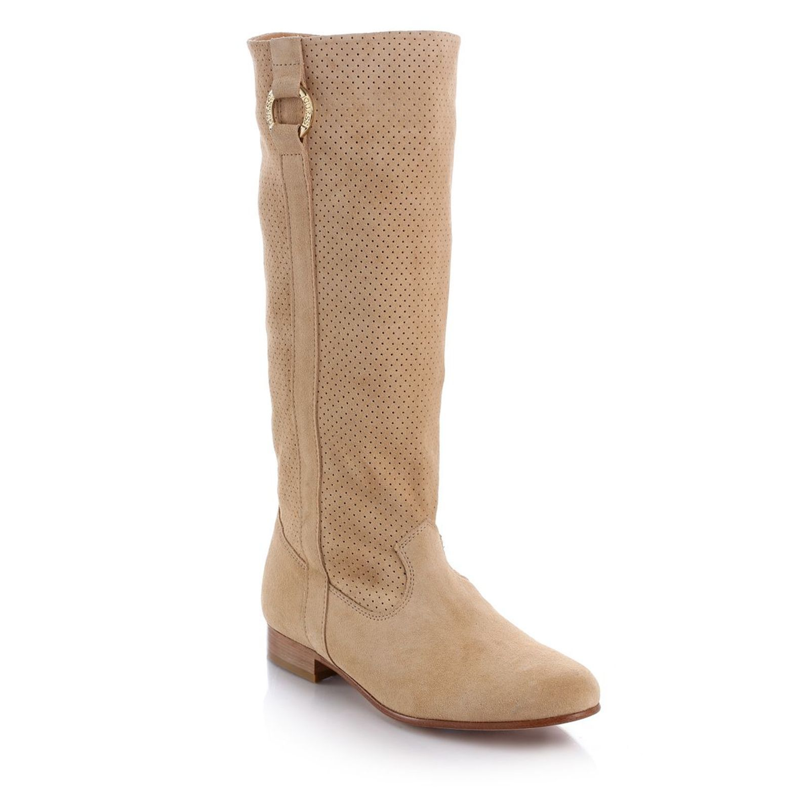 Guess :  Fluffy Suede - Bottes - beige