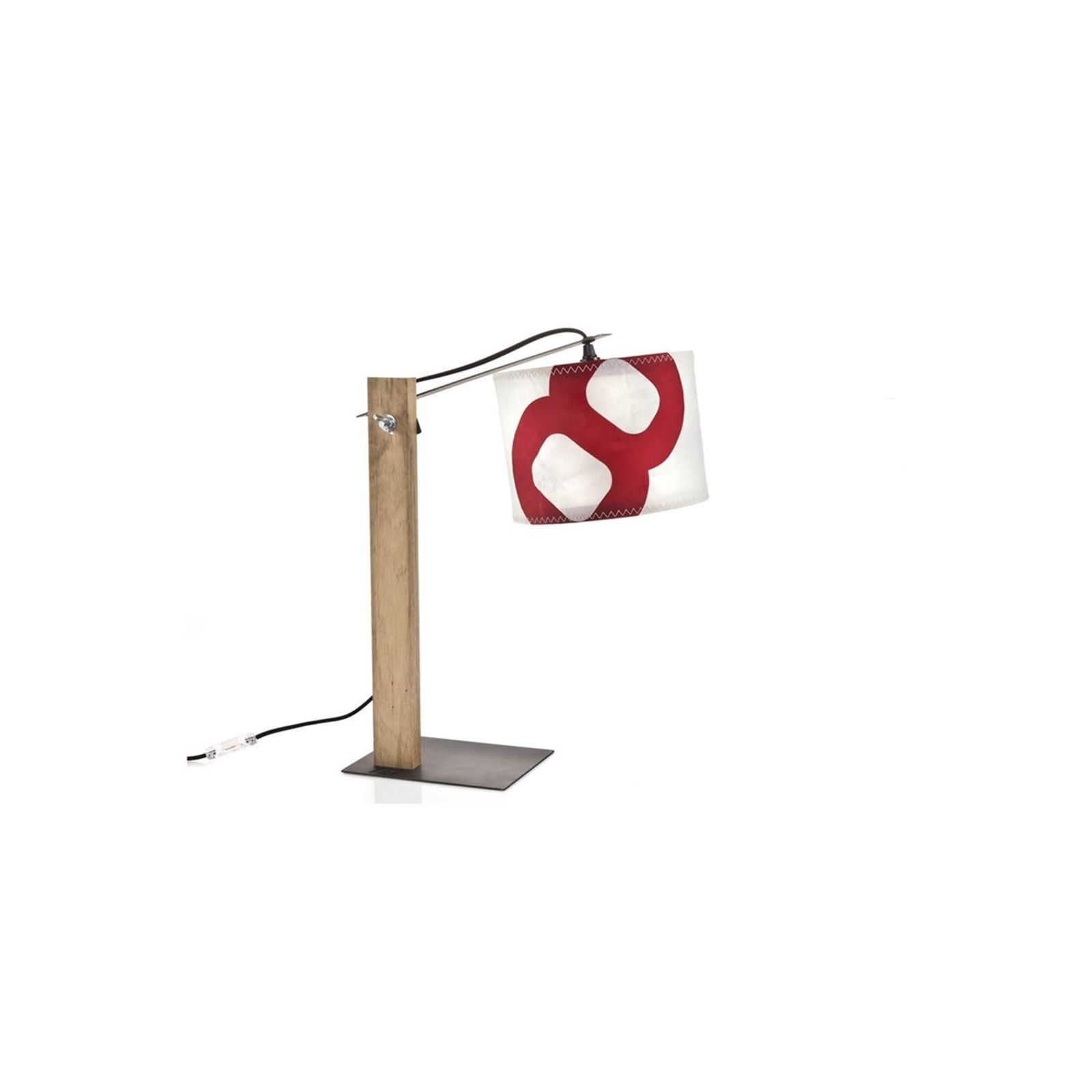 727 Sailbags lampe � poser - rouge