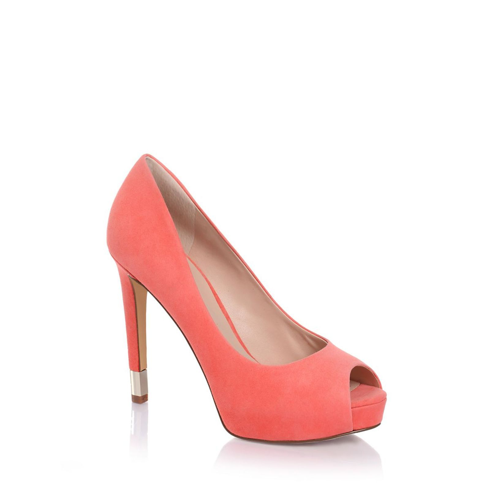 Guess :  Hadie Suede - Chaussures � talon - rose clair