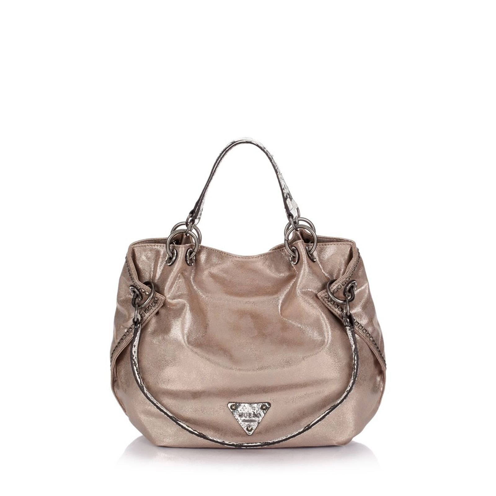 Guess :  Sac besace - champagne