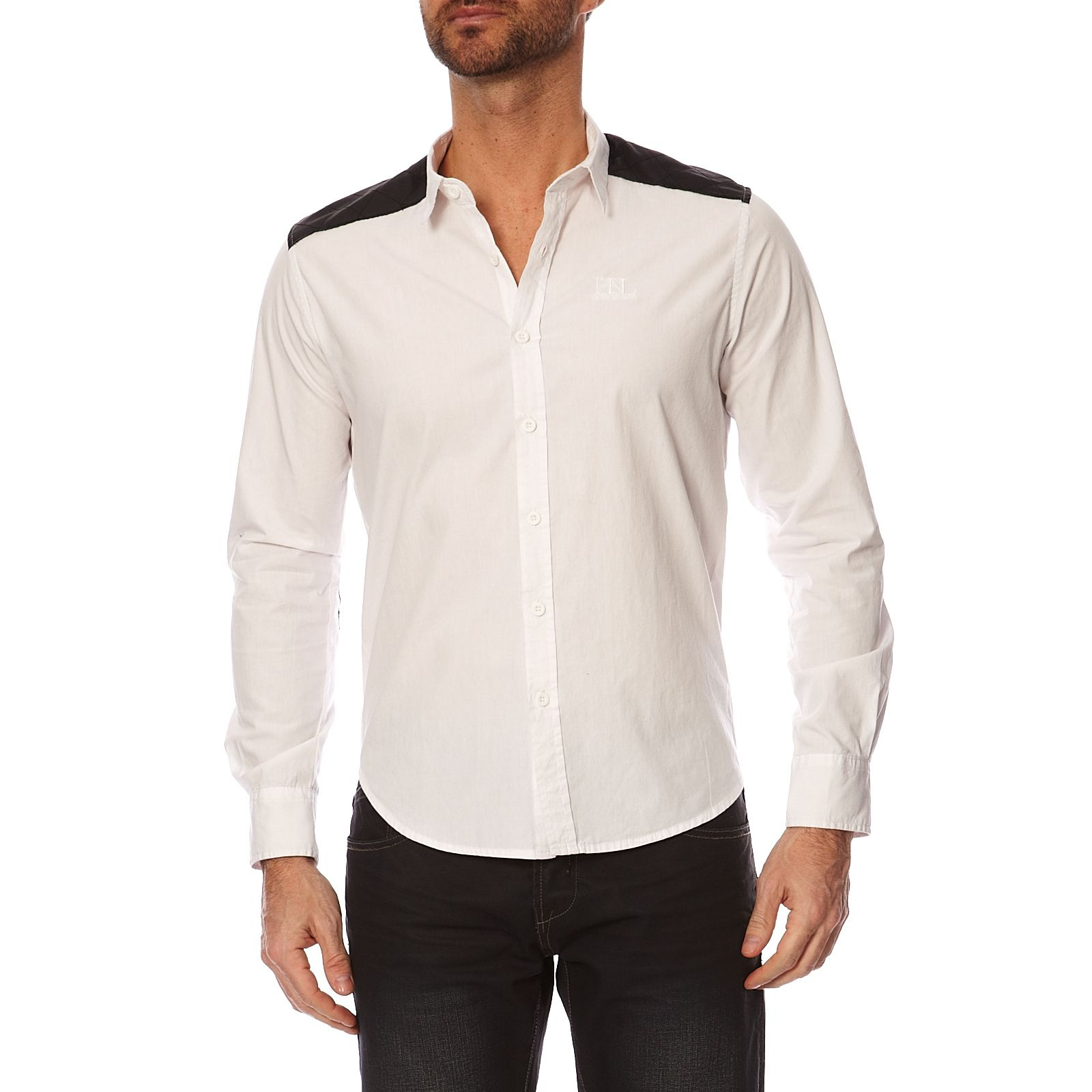 Longues Homme Hope N NivernoChemise Blanc V Life Manches WEY29IeDH