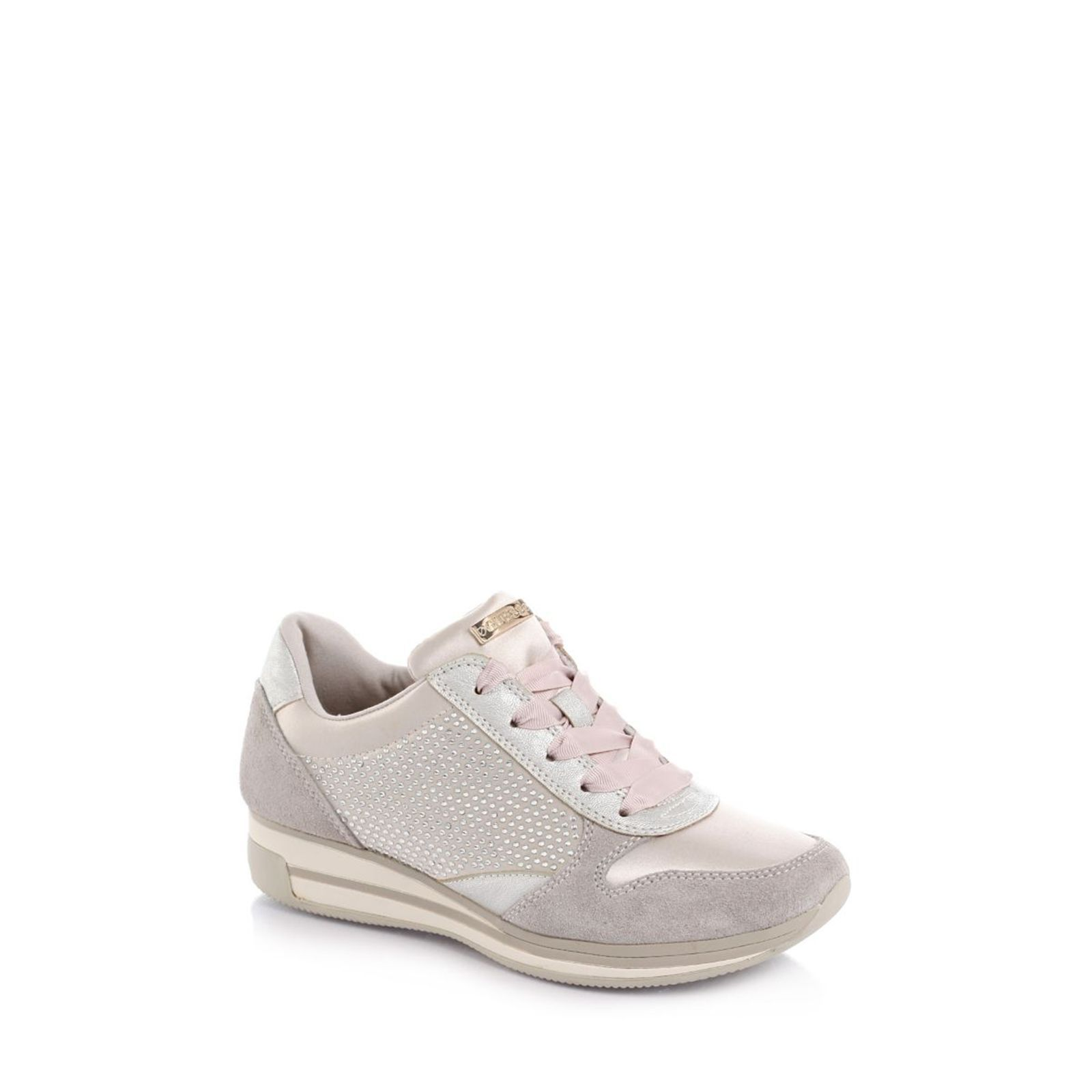 Guess :  Valeny Glittery - Sneakers - gris