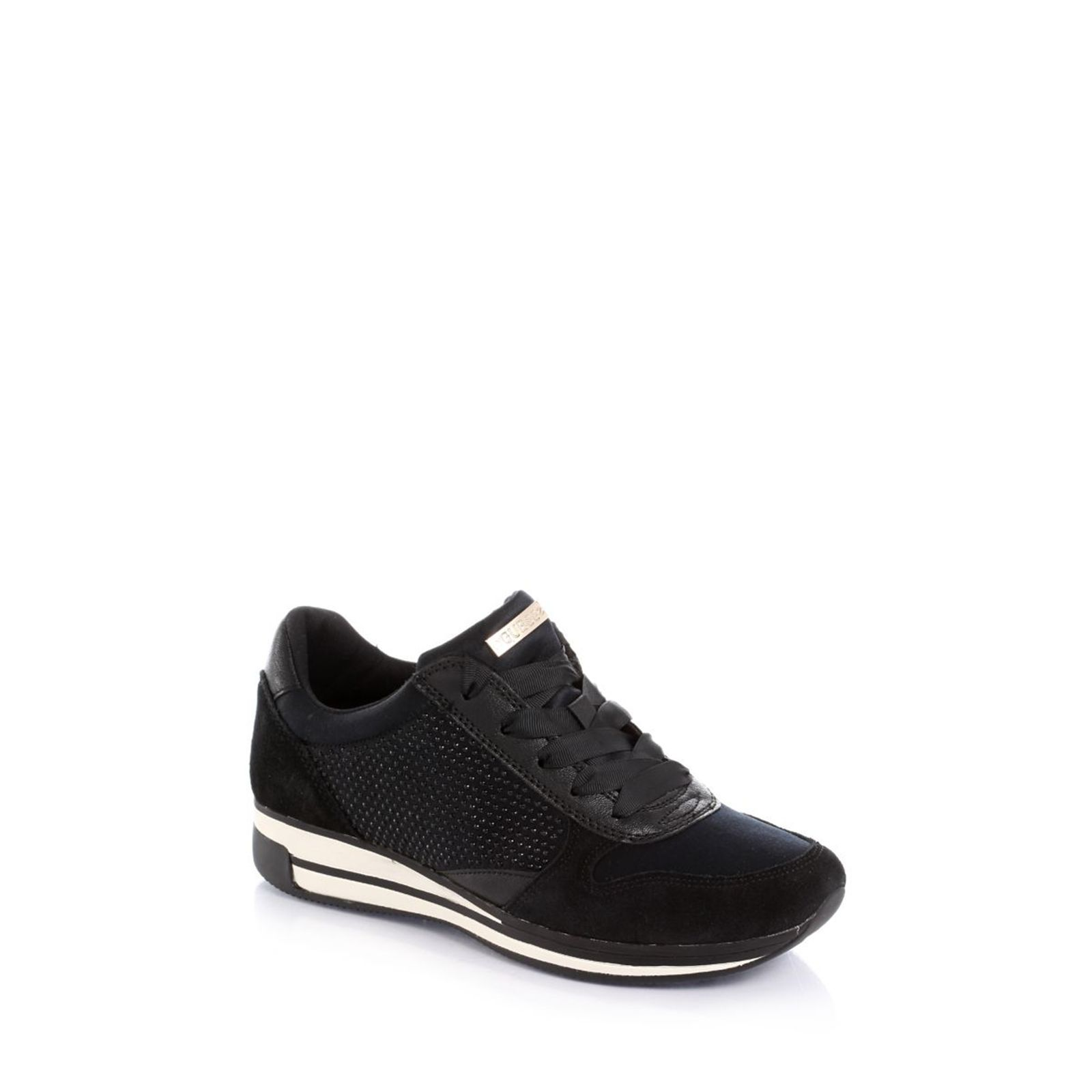Guess :  Valeny Glittery - Sneakers - noir
