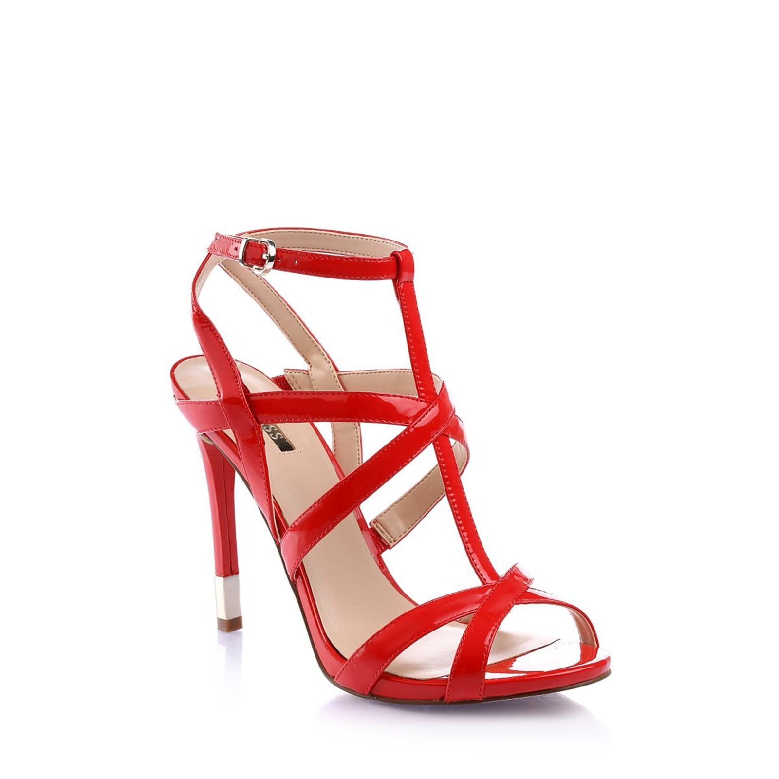 Guess :  Cacia - Sandales - rouge