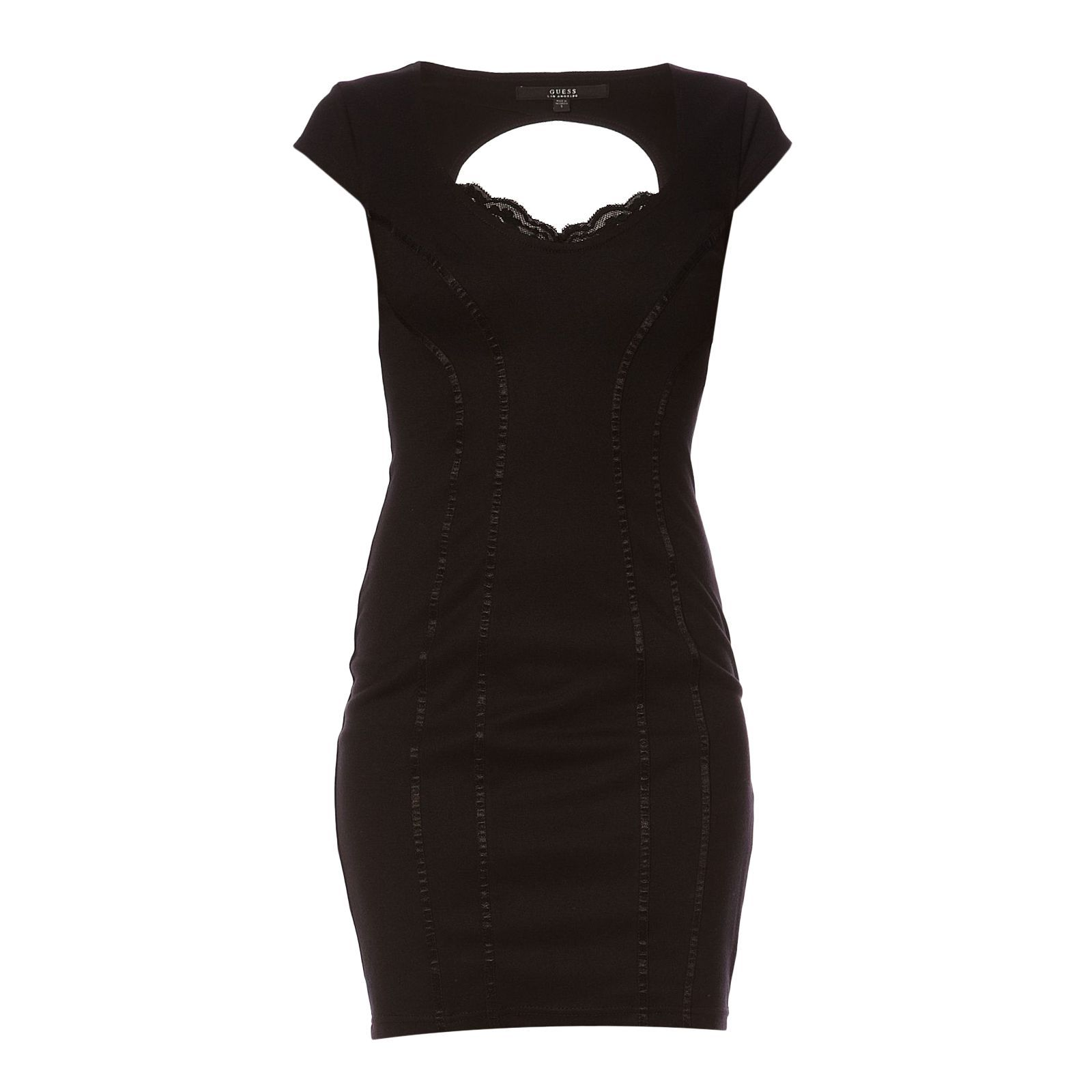 Guess :  Claudia Solid - Robe droite - noir