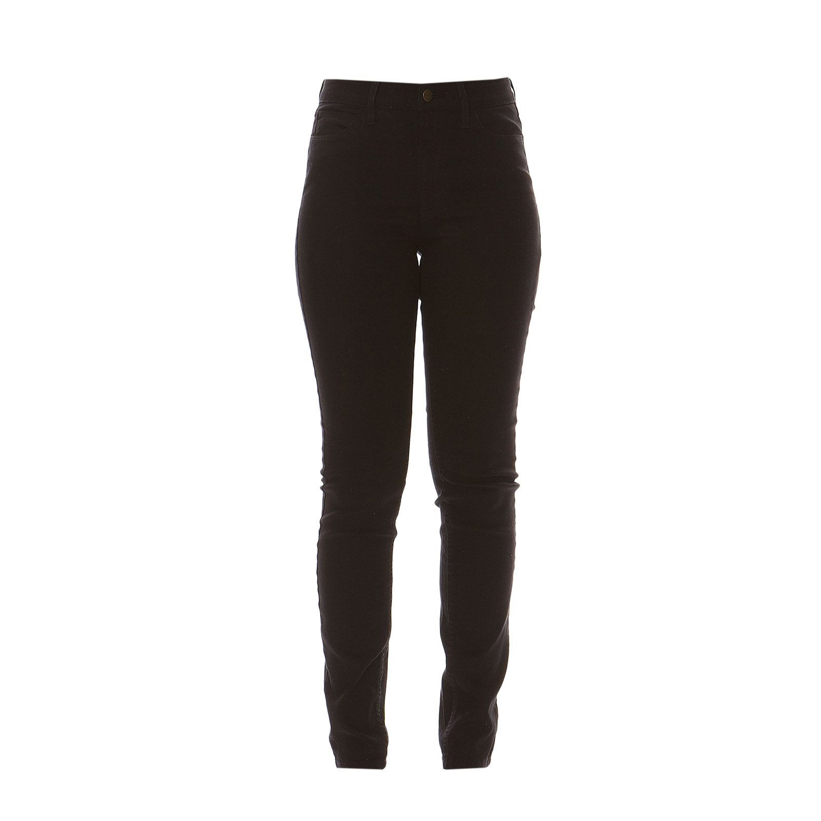 Guess :  High Rise Silicon Rinse - Jean skinny - noir