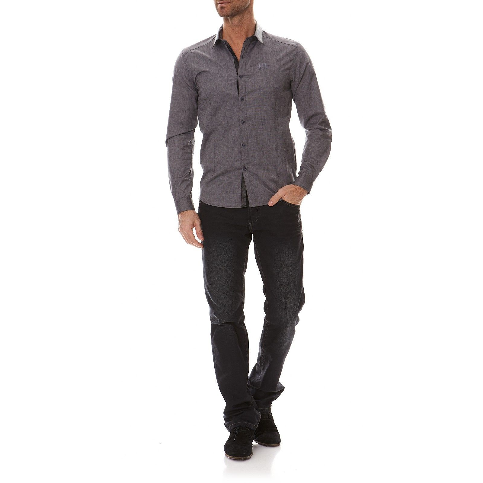 Hope Life Manches Anthracite Longues Homme NuhanChemise V N hdtQxCsr
