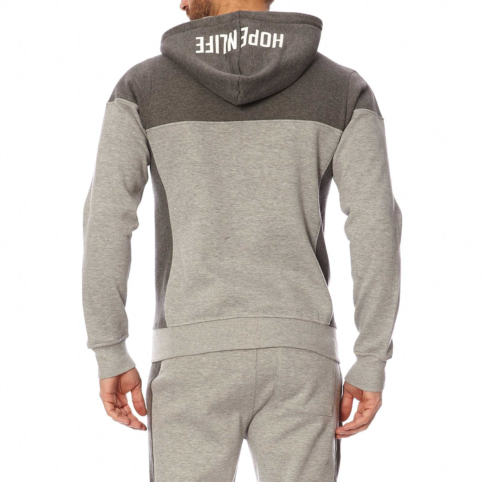 Life Gris N a V Capuche Homme MagdaSweat Hope Chine LSc4jRq3A5