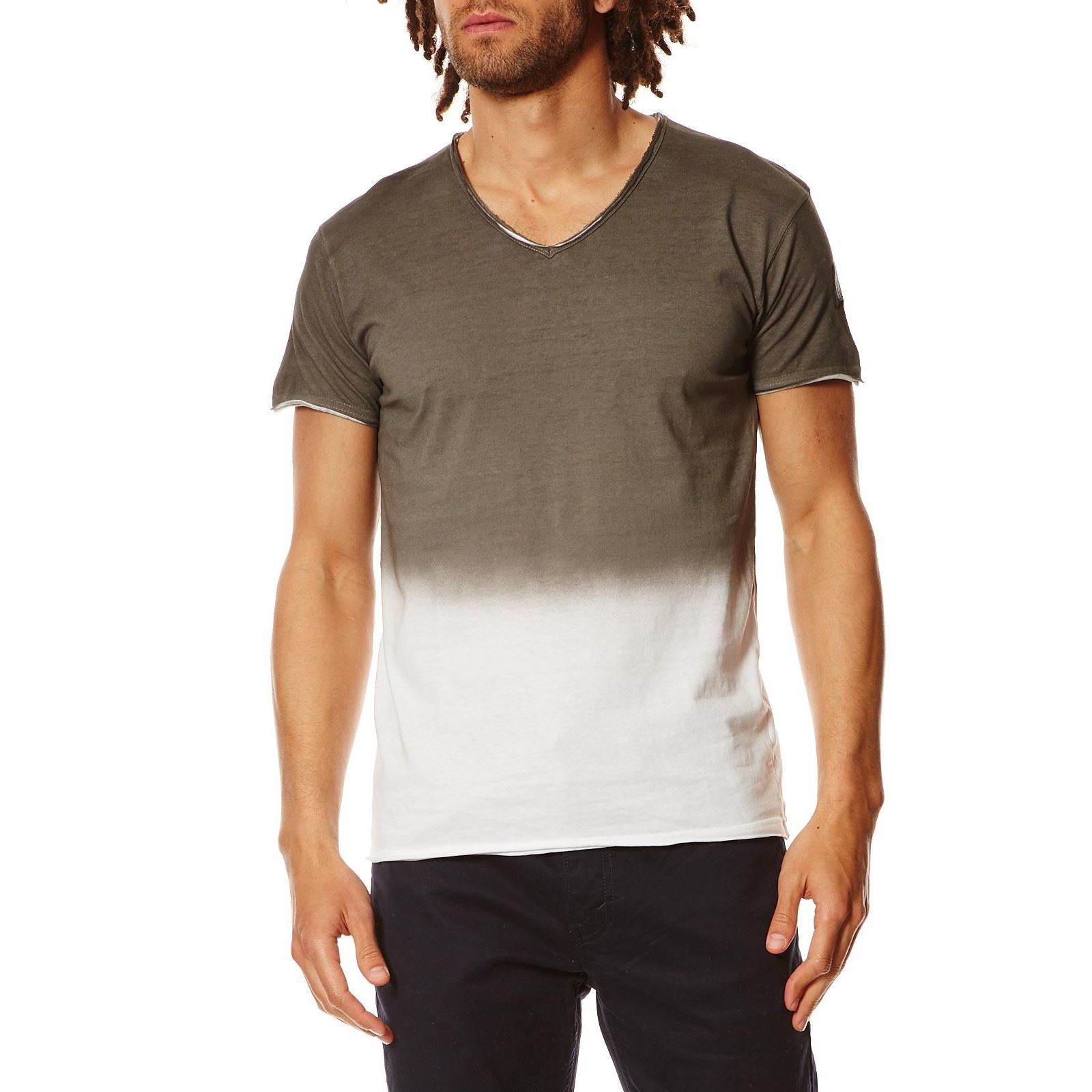 Anorith Courtes Gris Life Homme N shirt Hope eT Manches V PZOikXuT