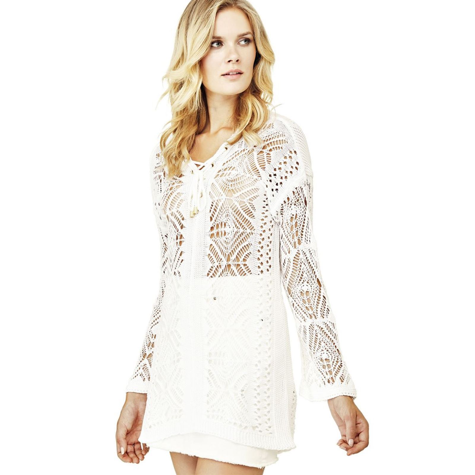 TopBlanc V Guess Femme TopBlanc Guess xWdCBore