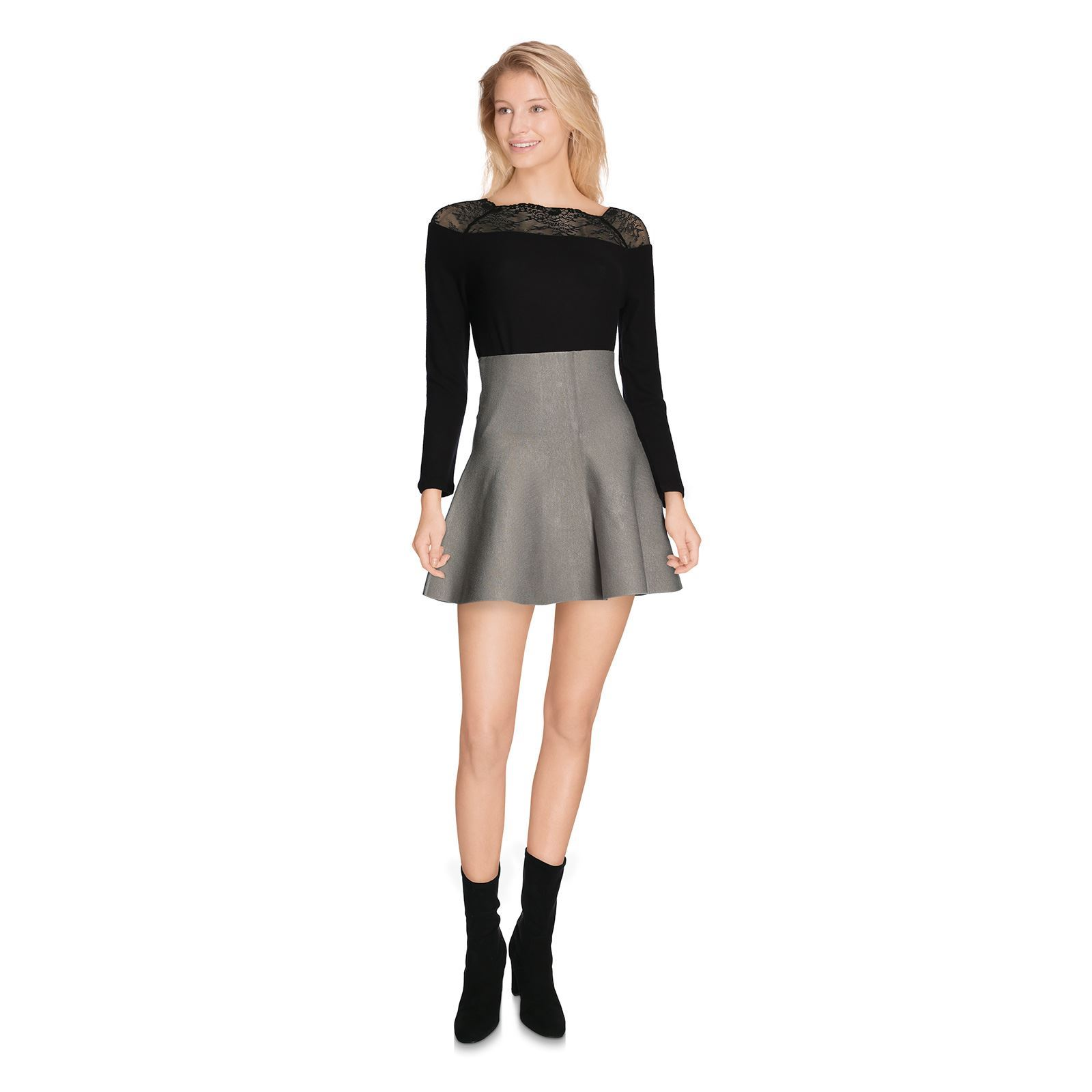 CircusJupe Maille May Femme En Gris Noisy V DH2IWEe9Y