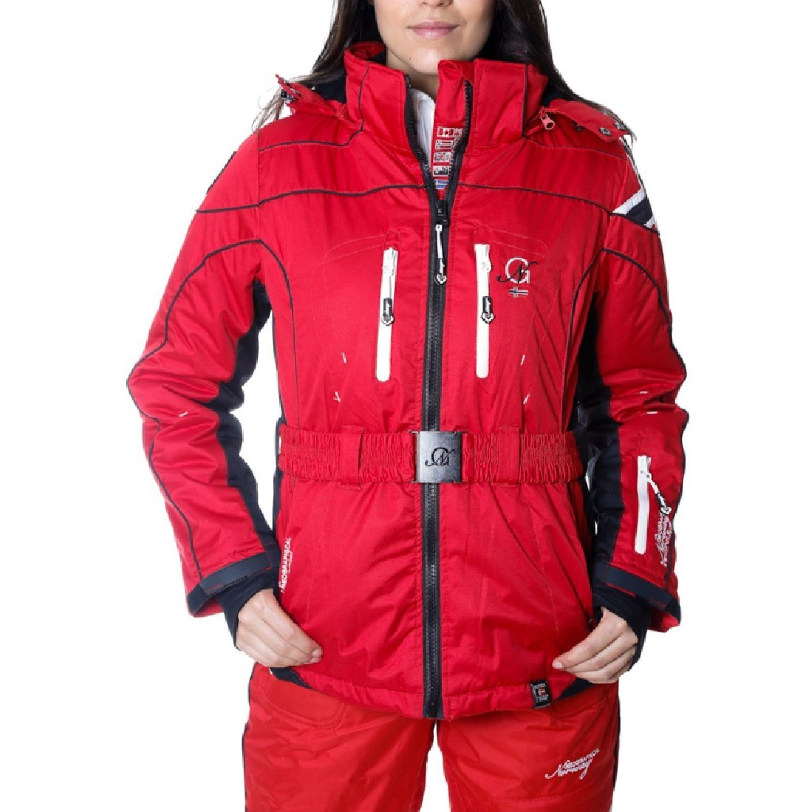 V SkiRouge De Blouson Femme Geographical Norway OPkZuwiTX