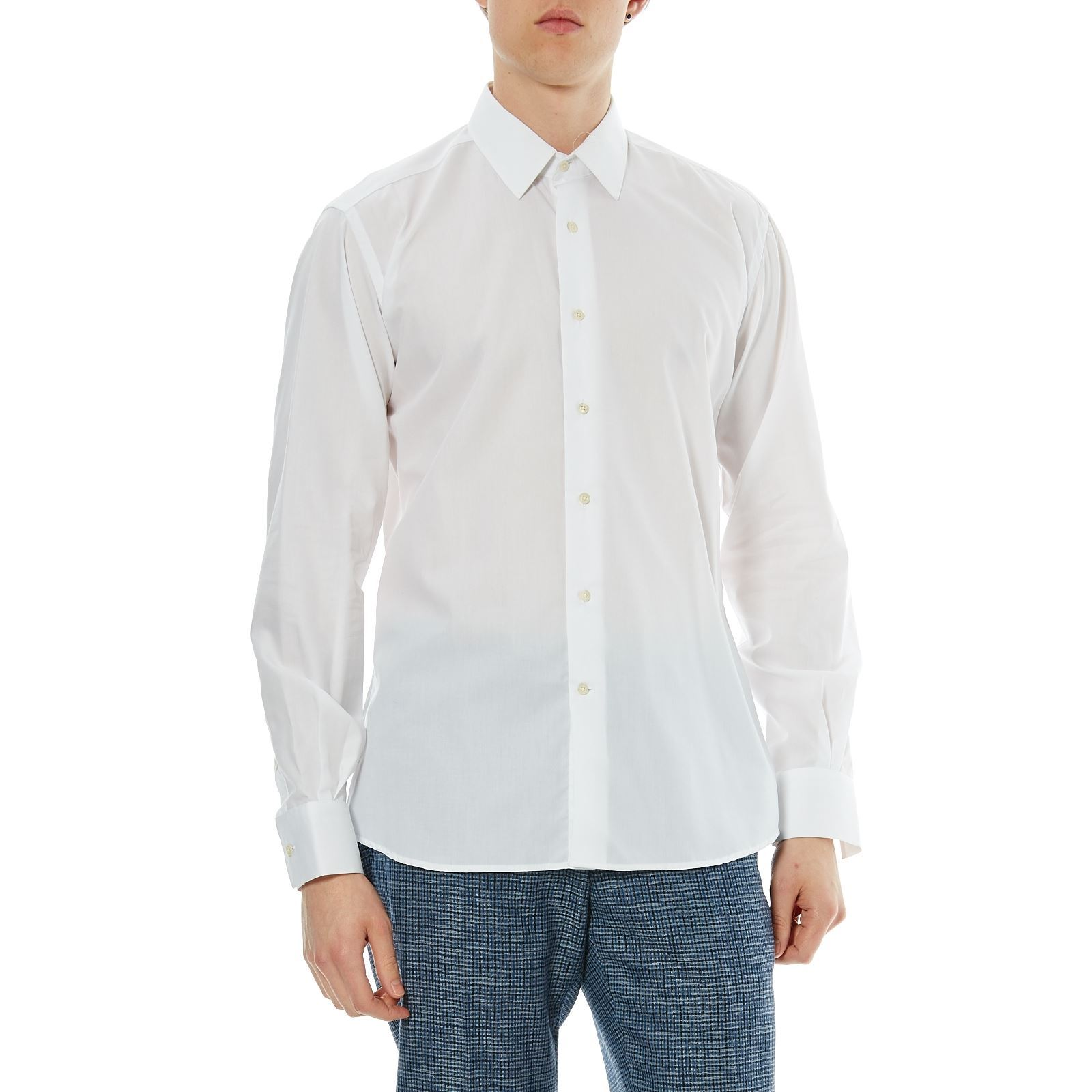 Karl V Chemise Manches LonguesBlanc Homme Lagerfeld nmwvN80