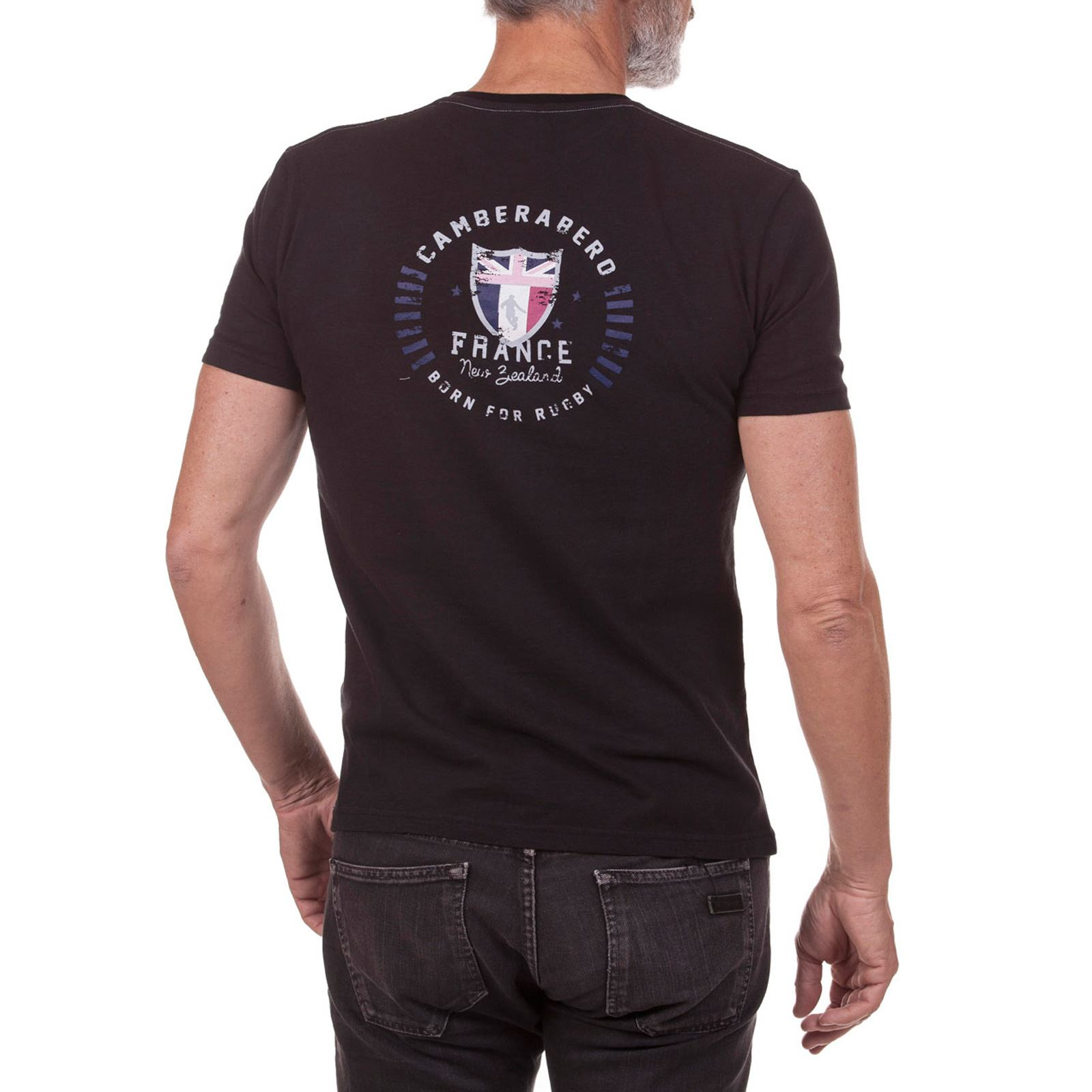 Camberabero CourtesNoir V T Homme shirt Manches Y6ygb7vf