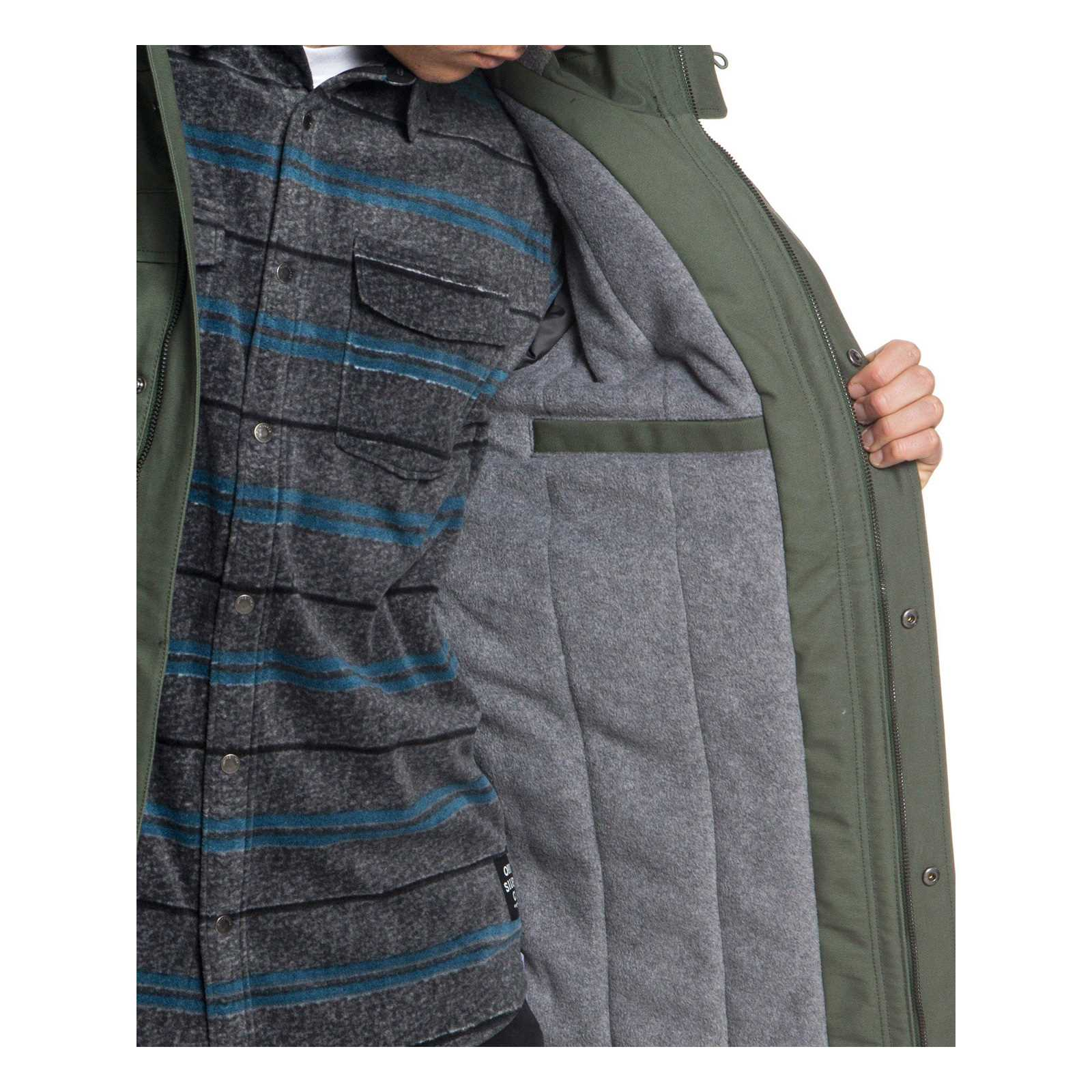 Quiksilver Army StormParka Homme StormParka Army StormParka V Quiksilver Quiksilver Homme Army V nvwPyN0m8O