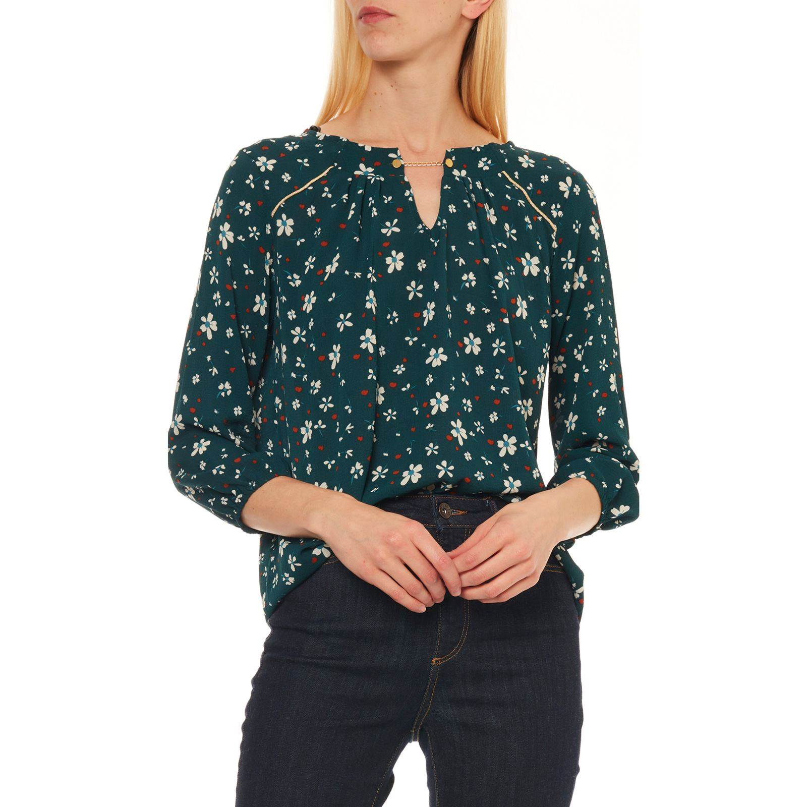 Etam Femme BlouseVert V Femme BlouseVert Etam f6vYb7gy