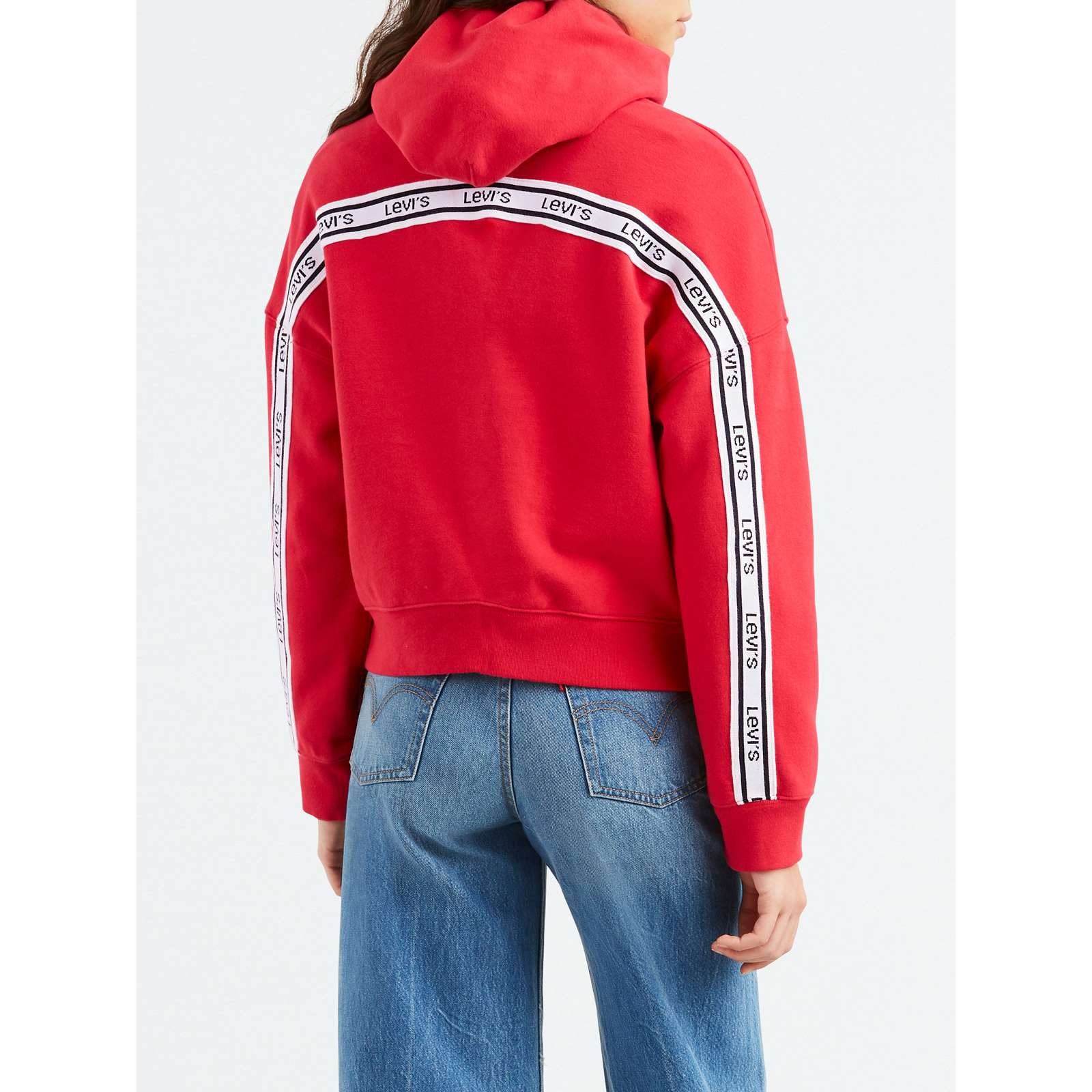 Capuche LogoSweat Levi's a Femme V Rouge b6YmgyI7vf