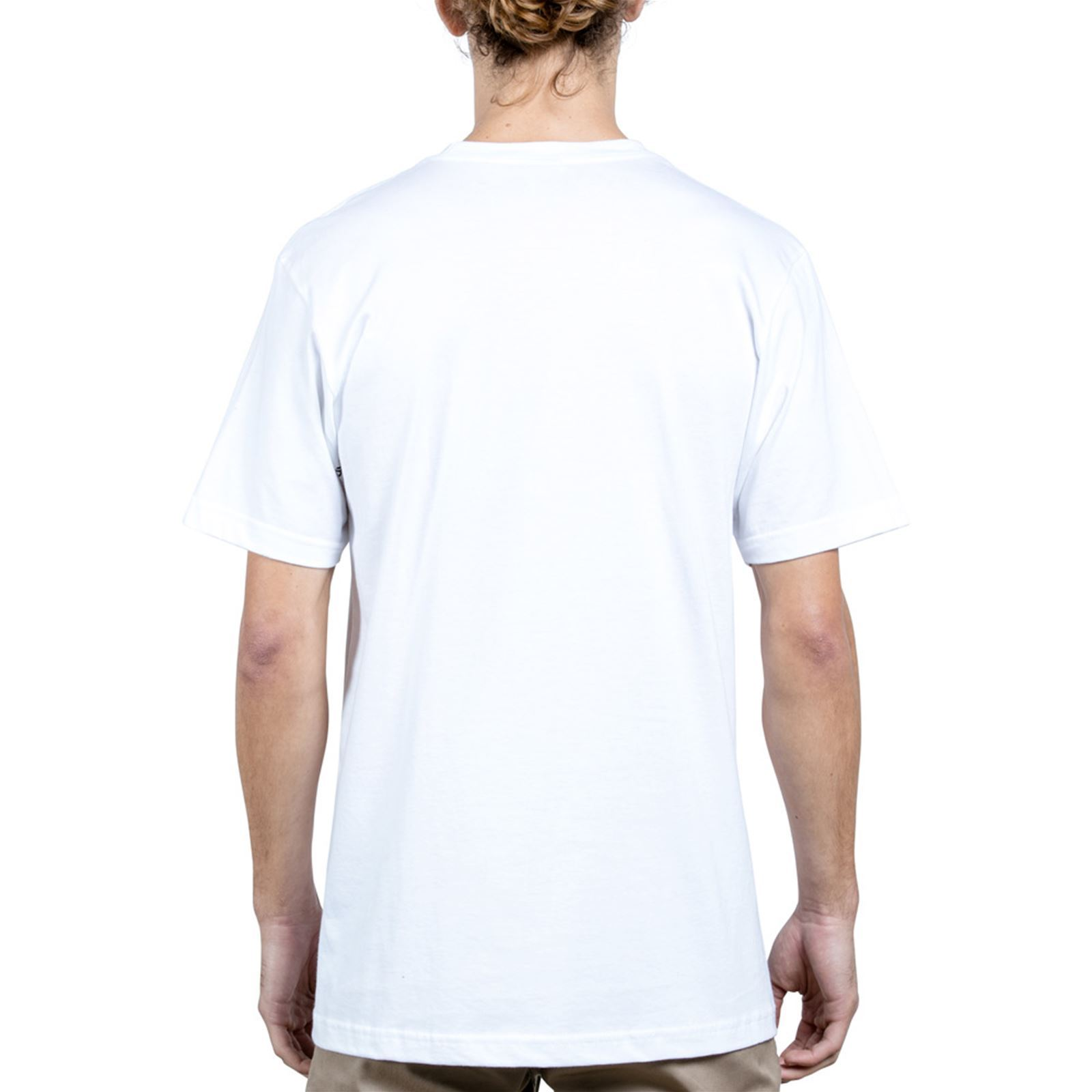 SsT Courtes Bsc V Blanc Volcom shirt Homme Manches Wiggle CBedox