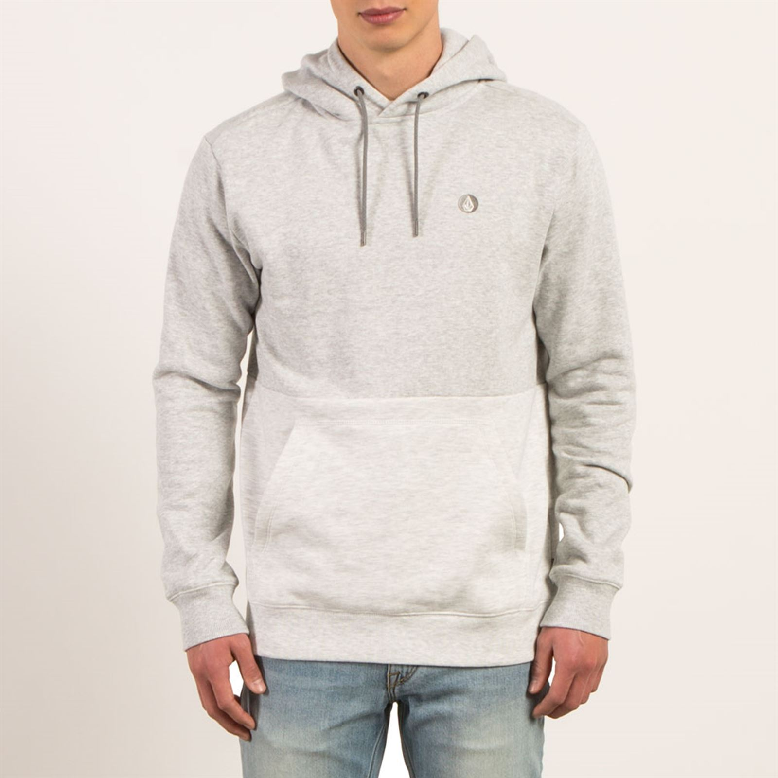 Stone Volcom Sngl a Homme Capuche V DivisionSweat Gris rthdCxsQ