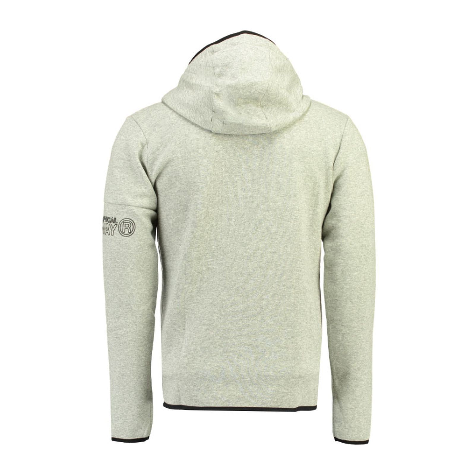 Geographical Sweat CapucheGris a Norway V Souris Homme OPZikXuT