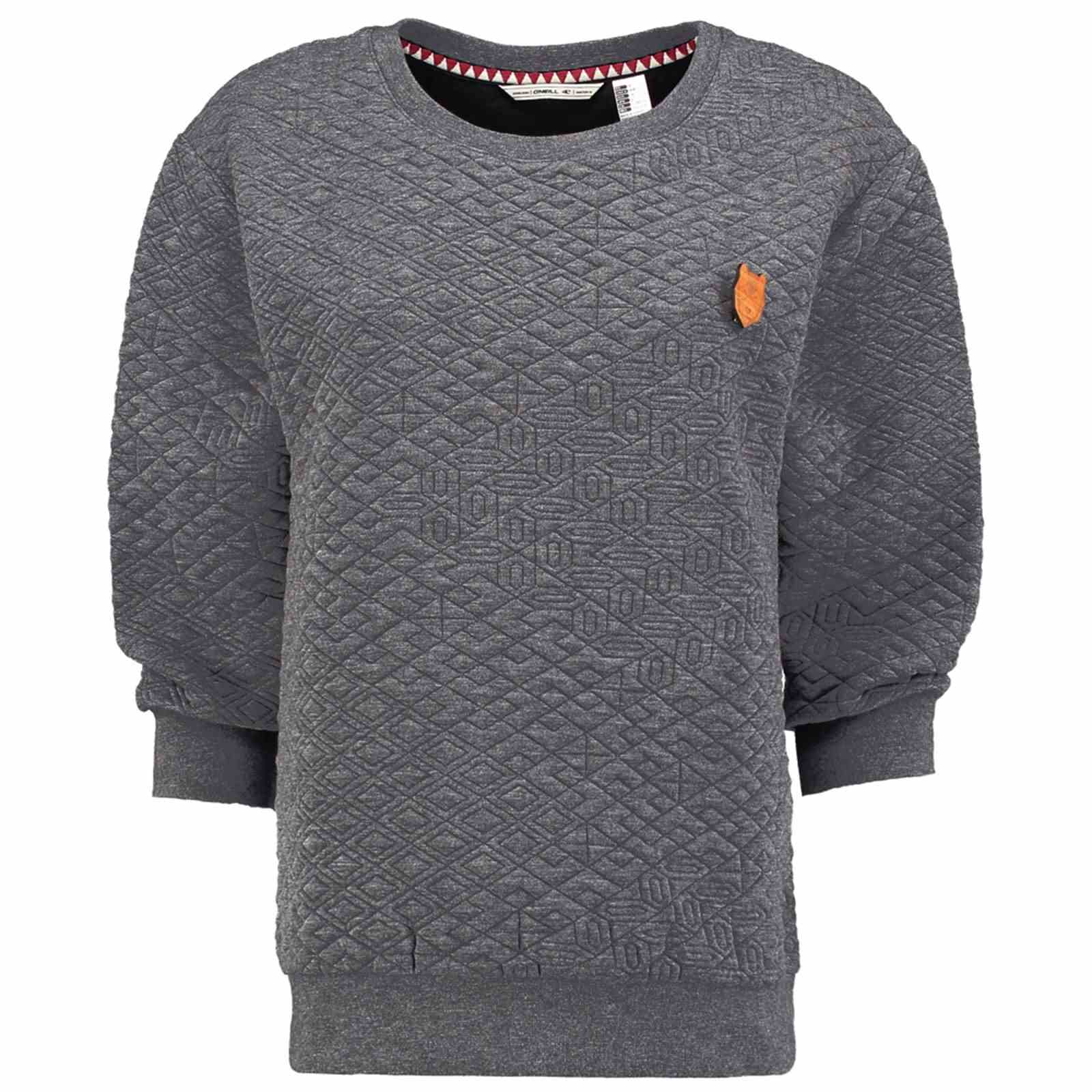 O'neill SweatshirtPull Crew V Femme Quilted Gris dCBorxe