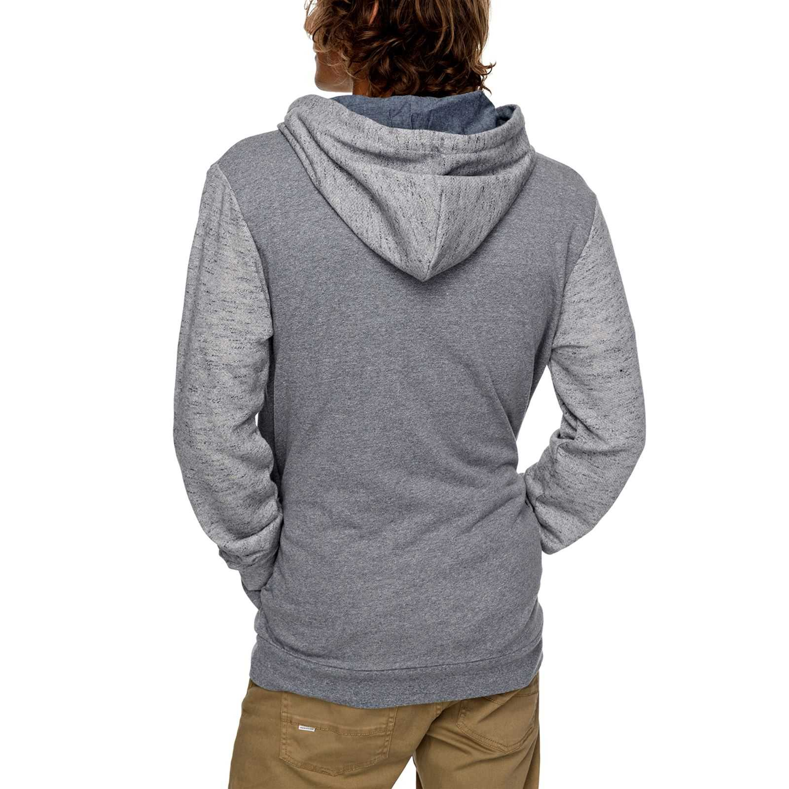 Shd Homme 2Sweat V Fleece Capuche Quiksilver Bleu Top a kiOPuXZ