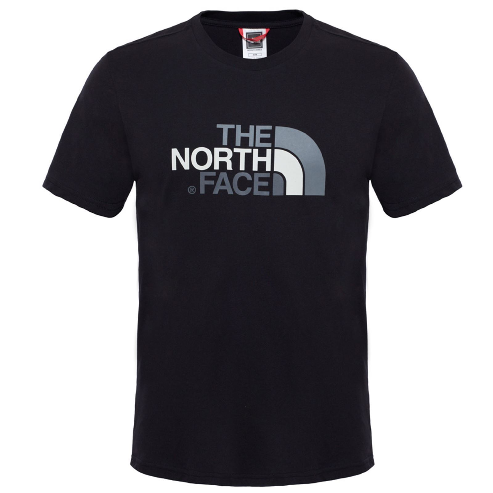 The Homme Sleeves TeeT Noir V Short Manches Courtes shirt Easy North Face jLRA534