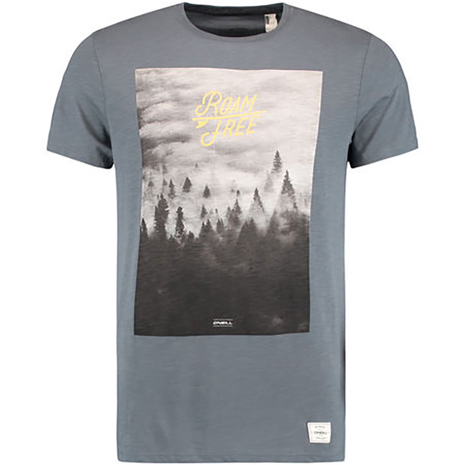 Gris T shirtManches Courtes O'neill Wildlife V Homme H2YWED9I