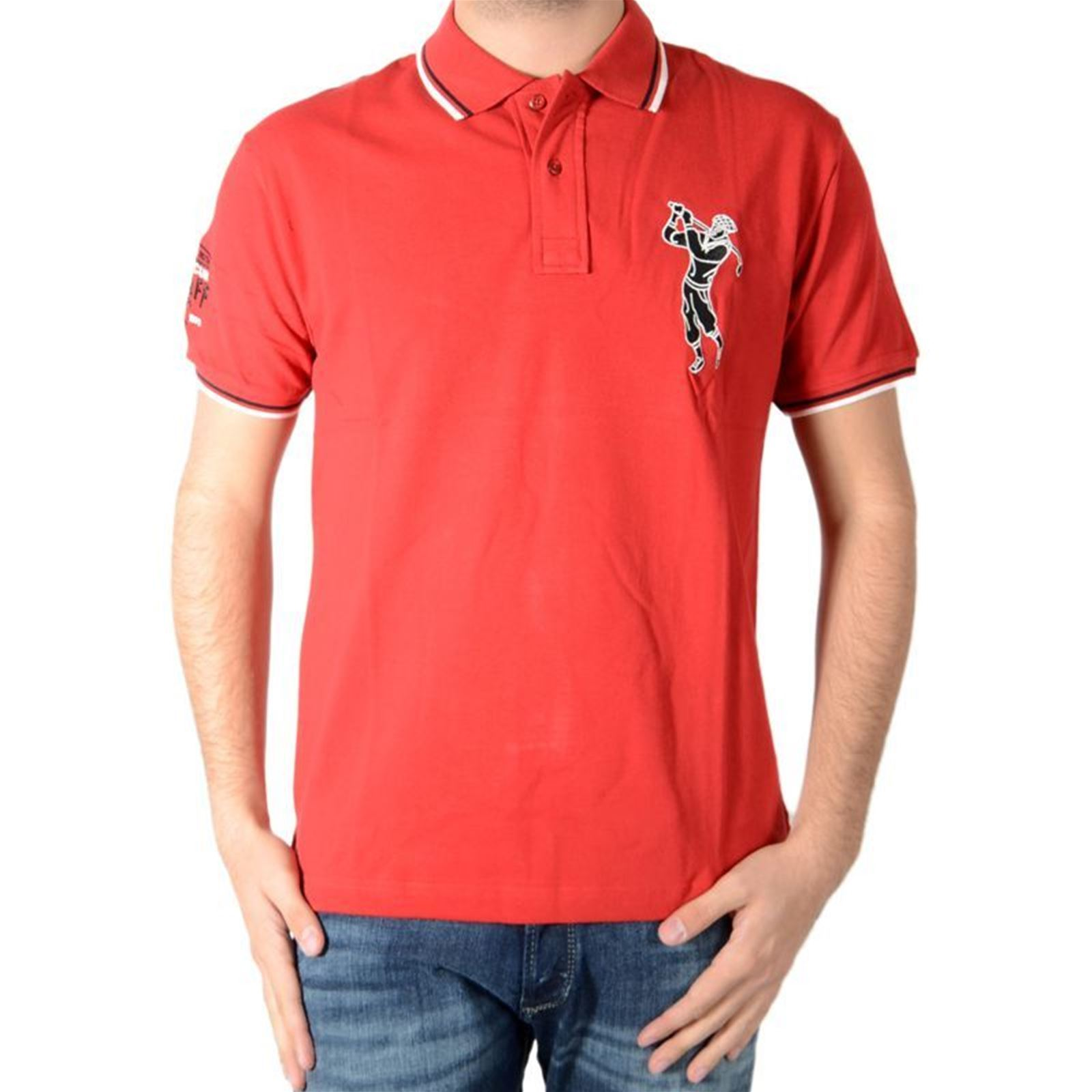 Manches Roth V Marion Polo CourtesRouge Homme kZXiOuP