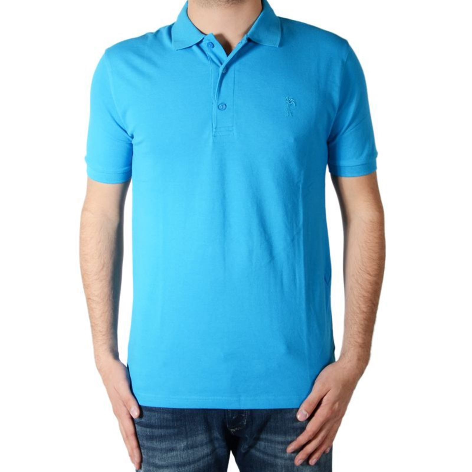 V Marion Manches Homme Roth Polo CourtesTurquoise BedCxo