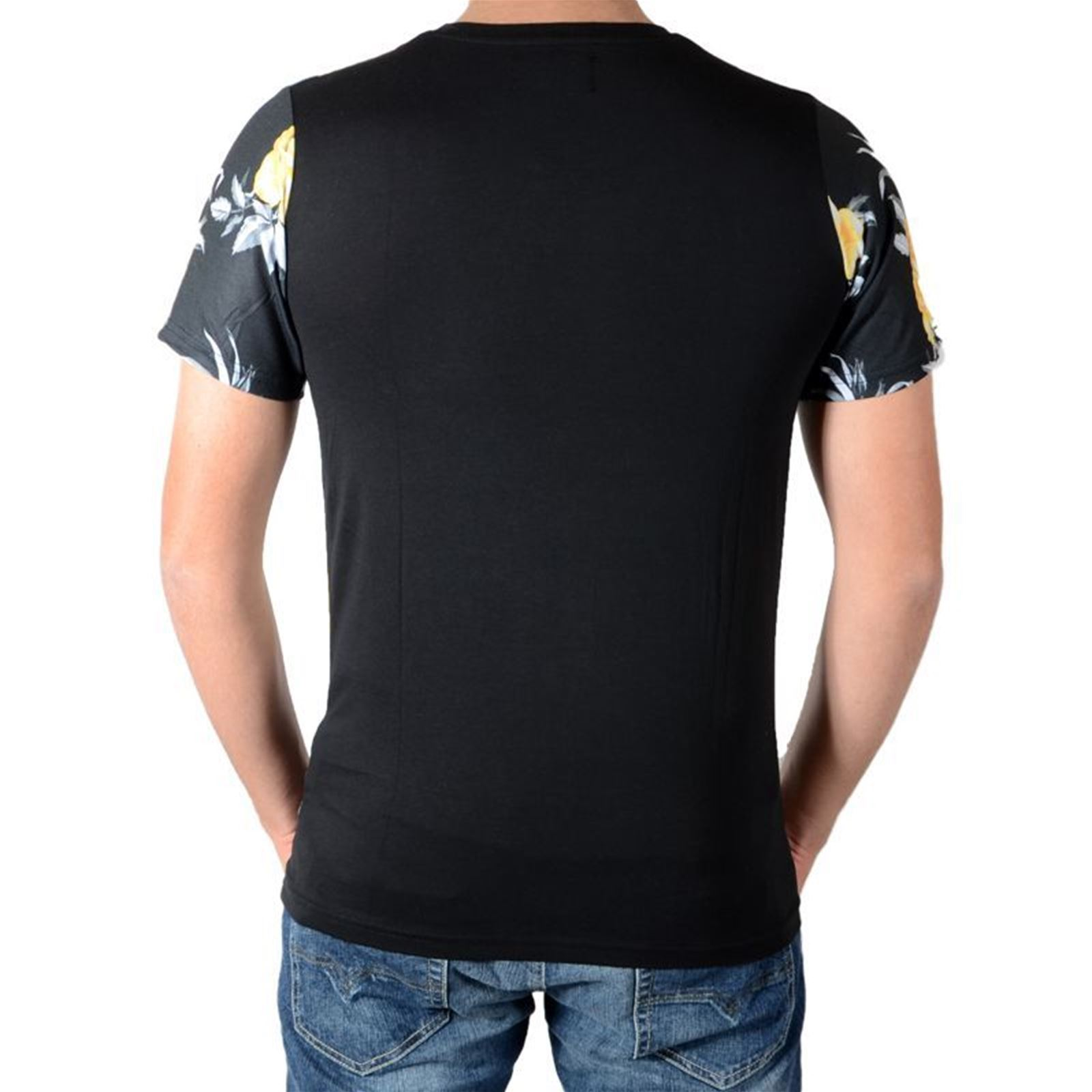 Manches T Tees Homme shirt Celebry CourtesNoir V UVqzMpGS
