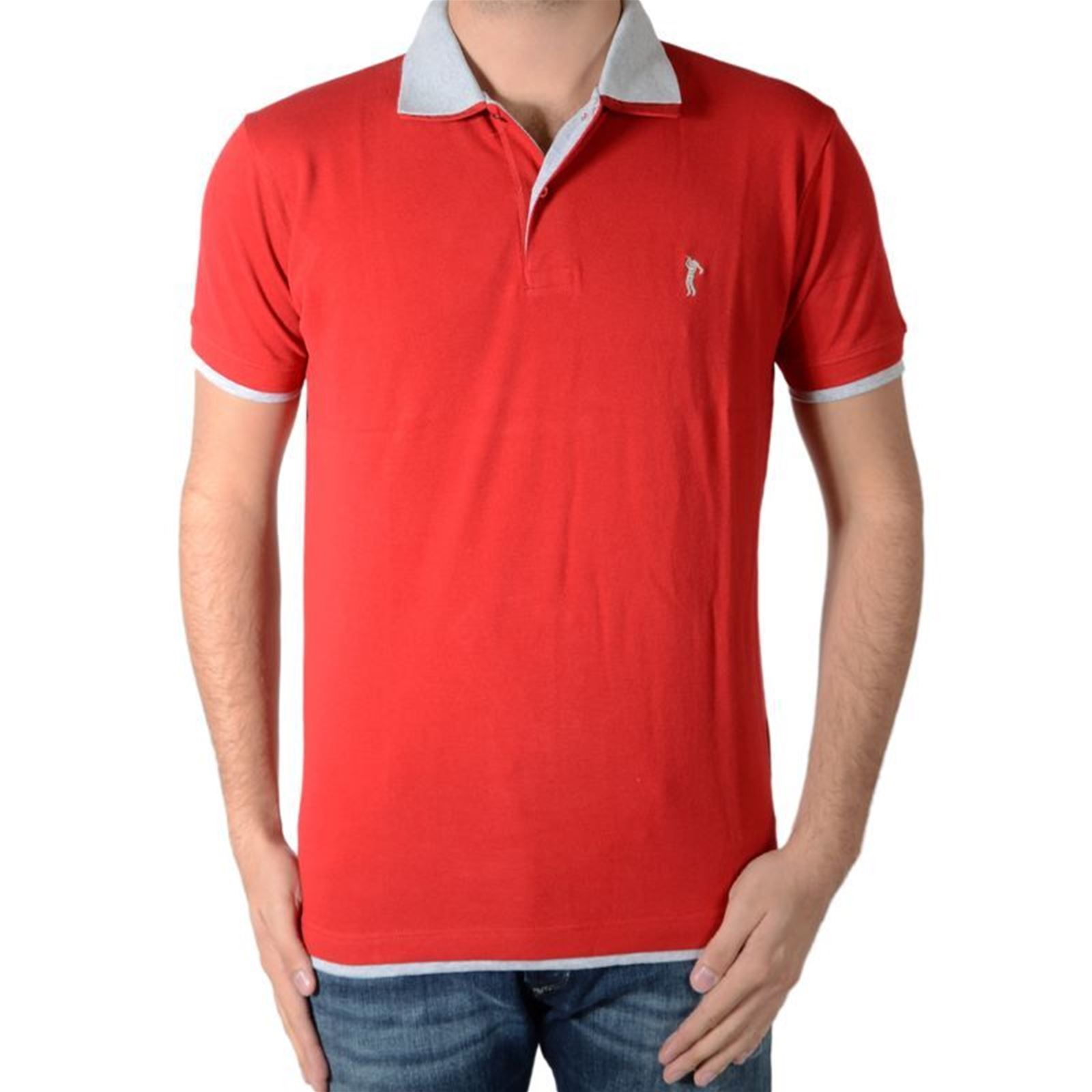 Marion Roth Polo Homme V Manches CourtesGris 0wnkXN8OP