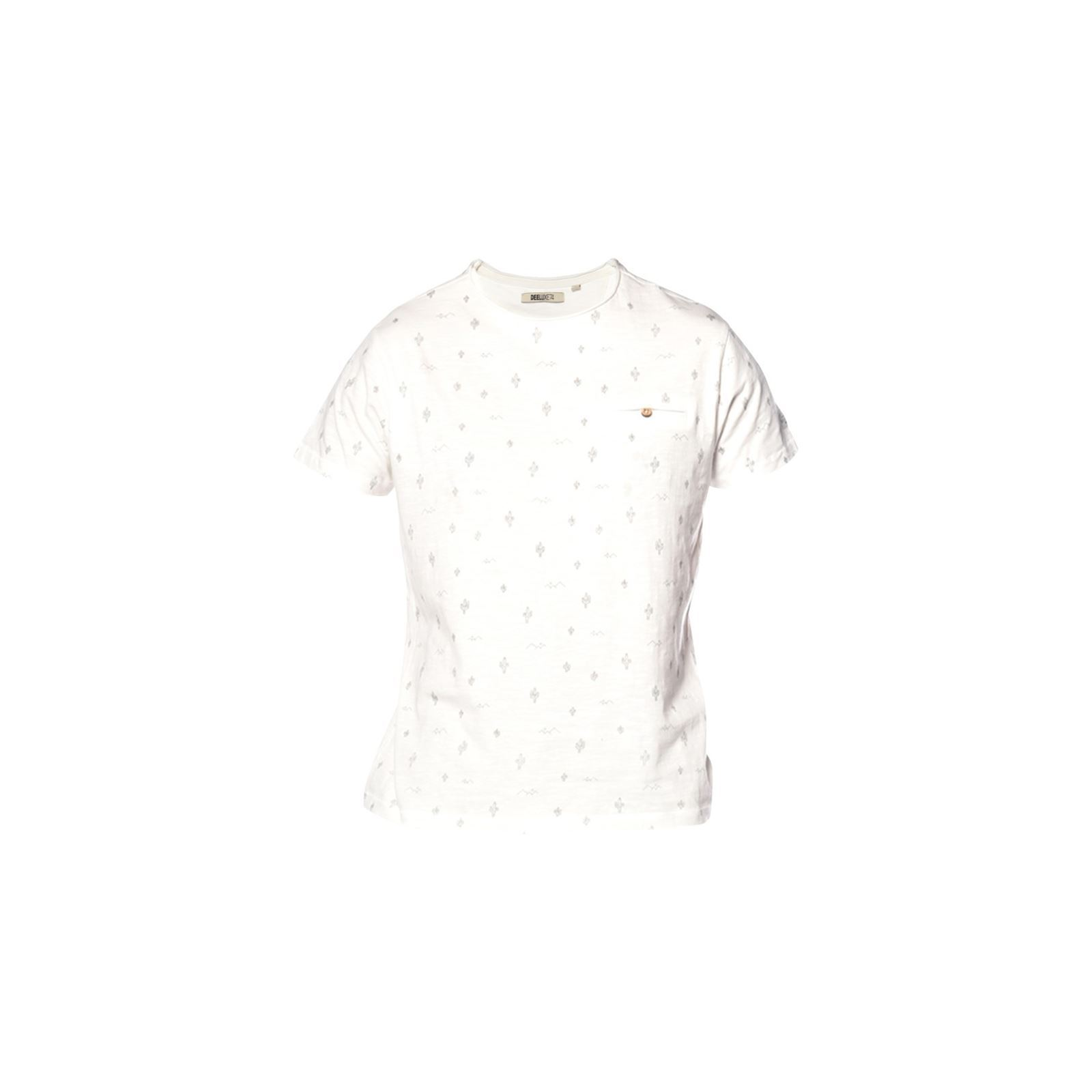 Courtes V Homme Manches shirt Deeluxe Blanc MexicoT N08wmnv