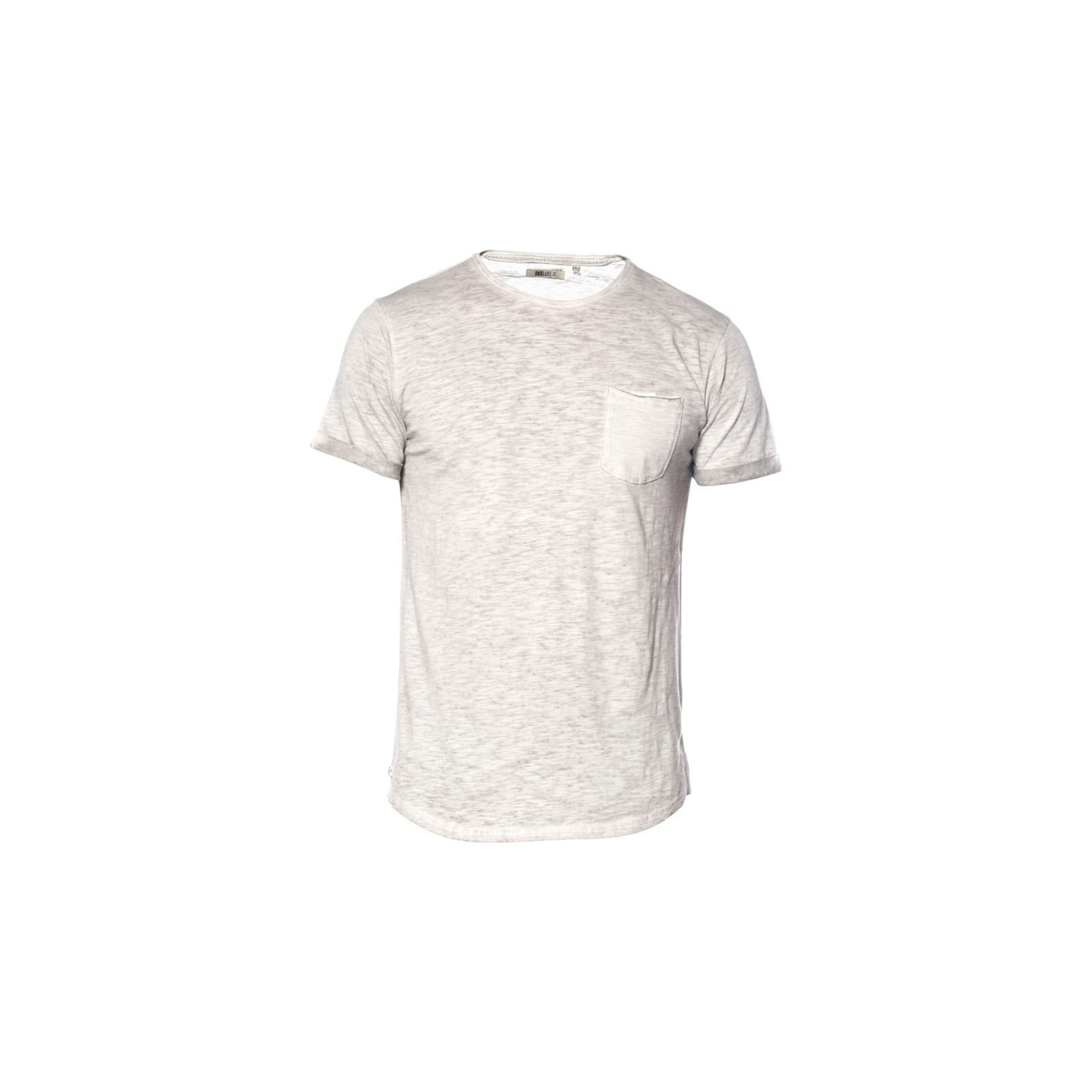 Deeluxe shirt Courtes Homme Manches Clair V BarnyT Gris xdorBeCW
