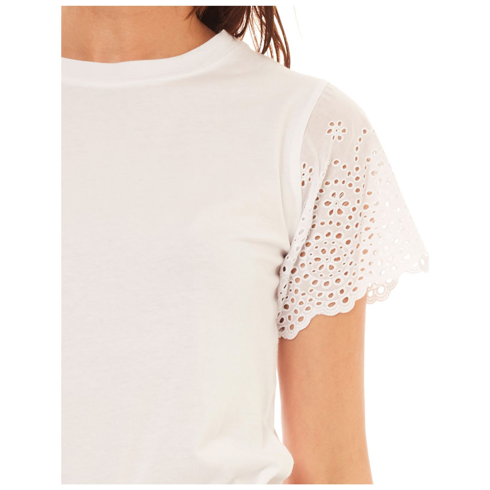 Molly shirt Manches Bracken T CourtesBlanc Femme V dxtQBshrC