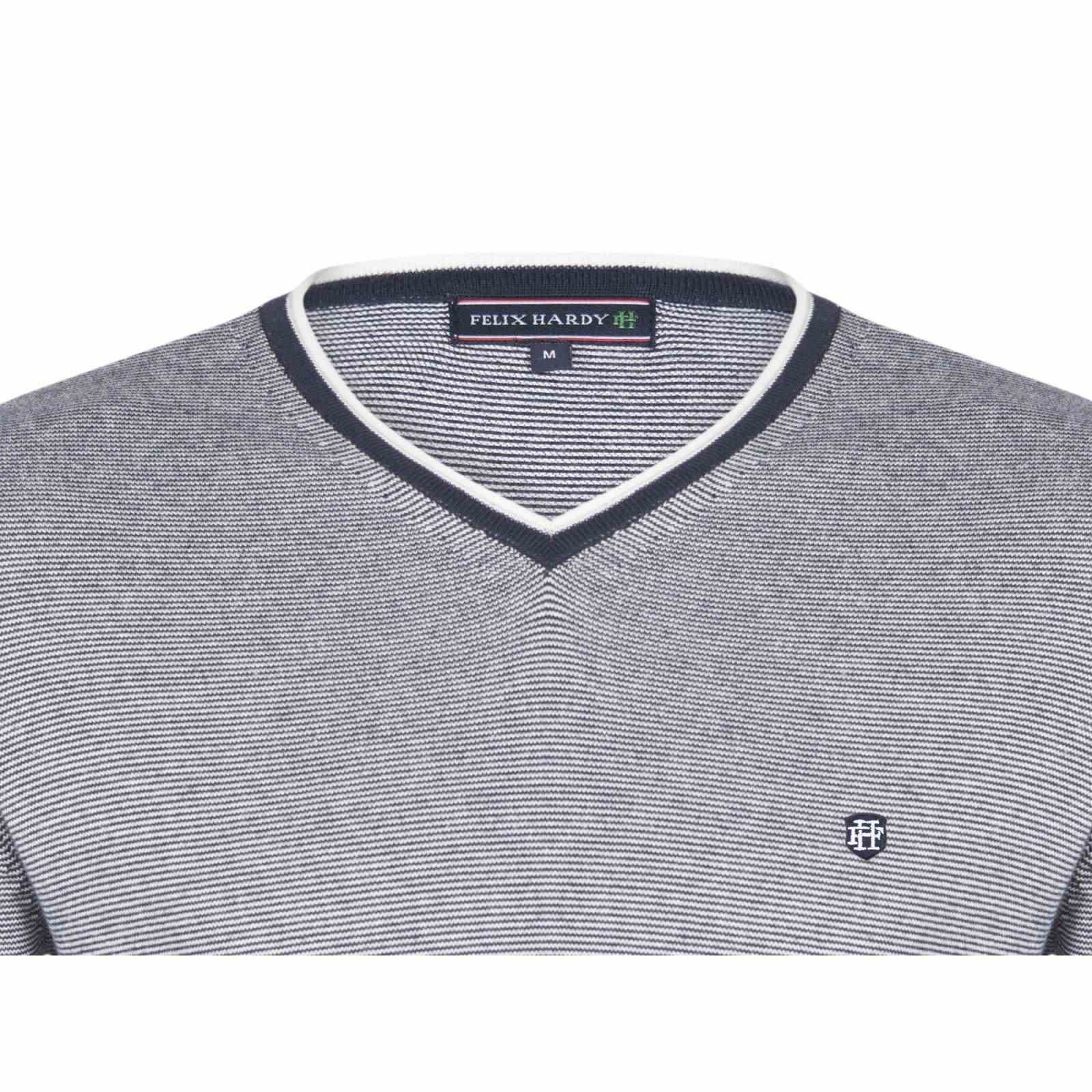 Felix V Clair Hardy Homme PullGris nO0kwP