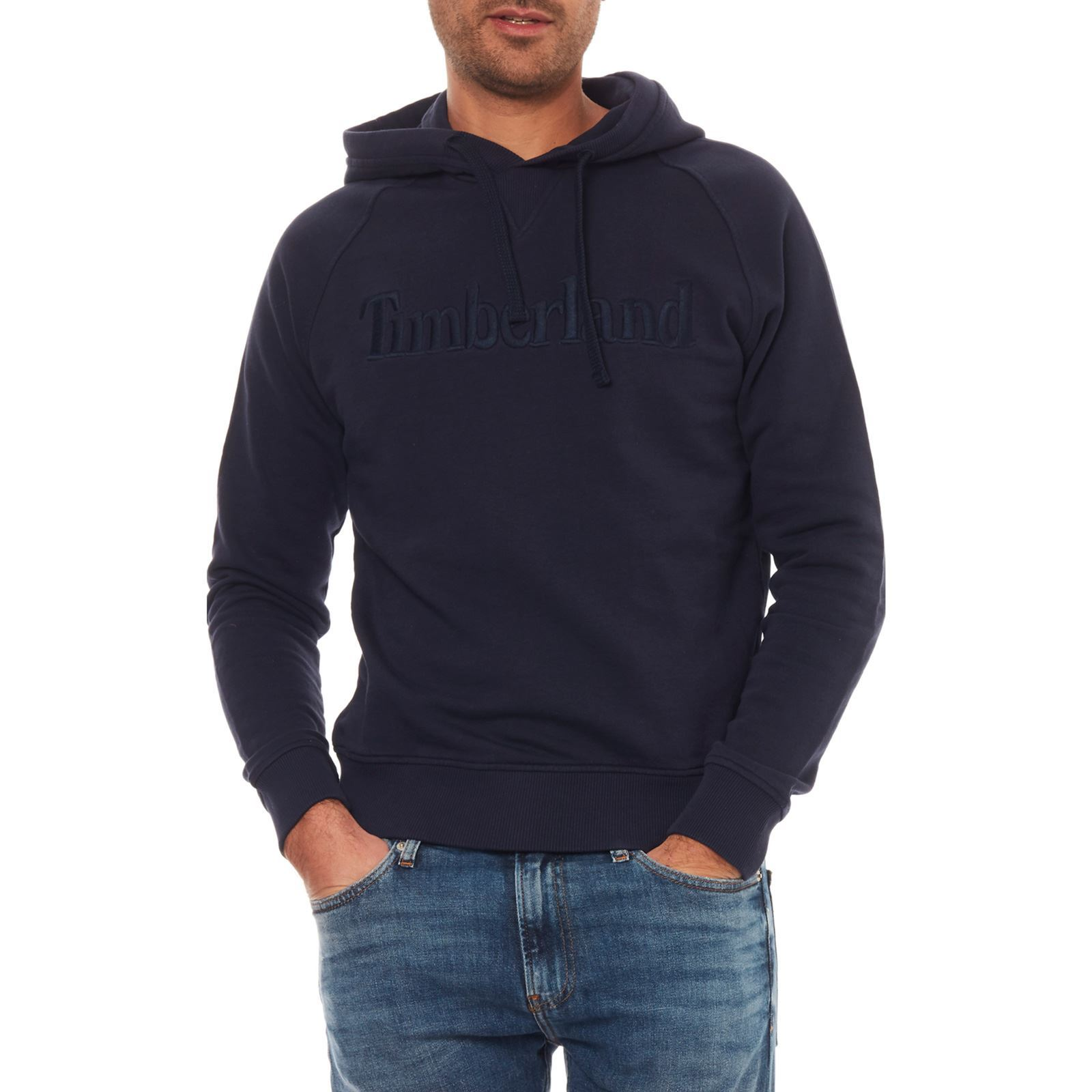 Marine Homme V Timberland Sweat a CapucheBleu 0OP8nwkX