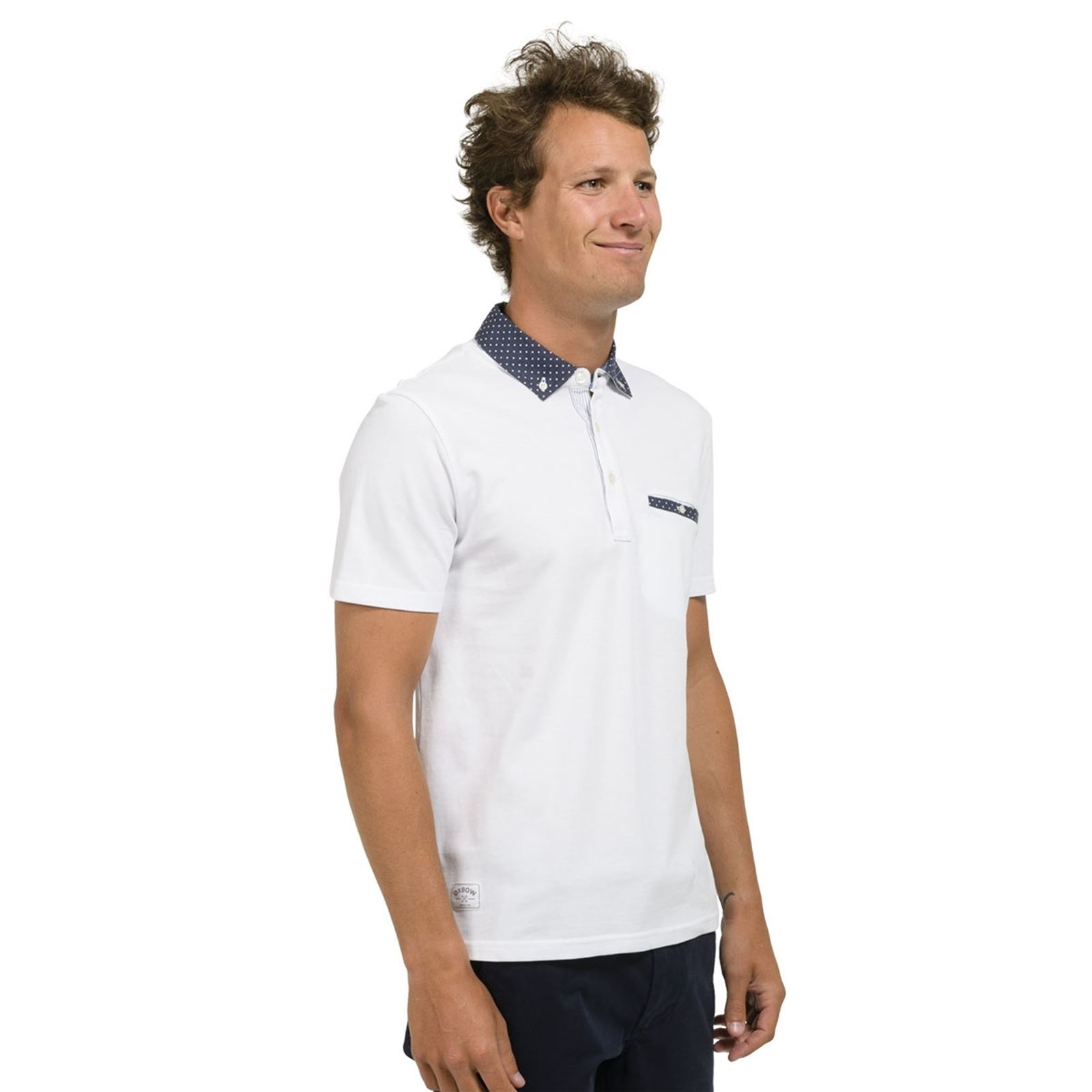 Manches Courtes Homme NortrePolo Blanc Oxbow V 34A5jqRLcS